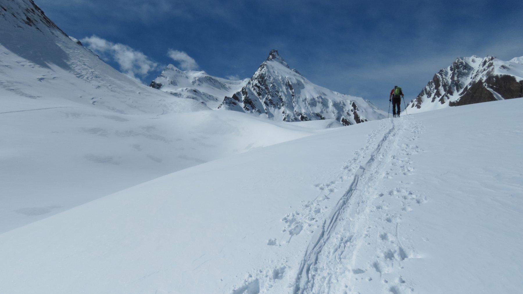 il Vallone di Nefelgiù da risalire, qui siamo a quota 2280 m