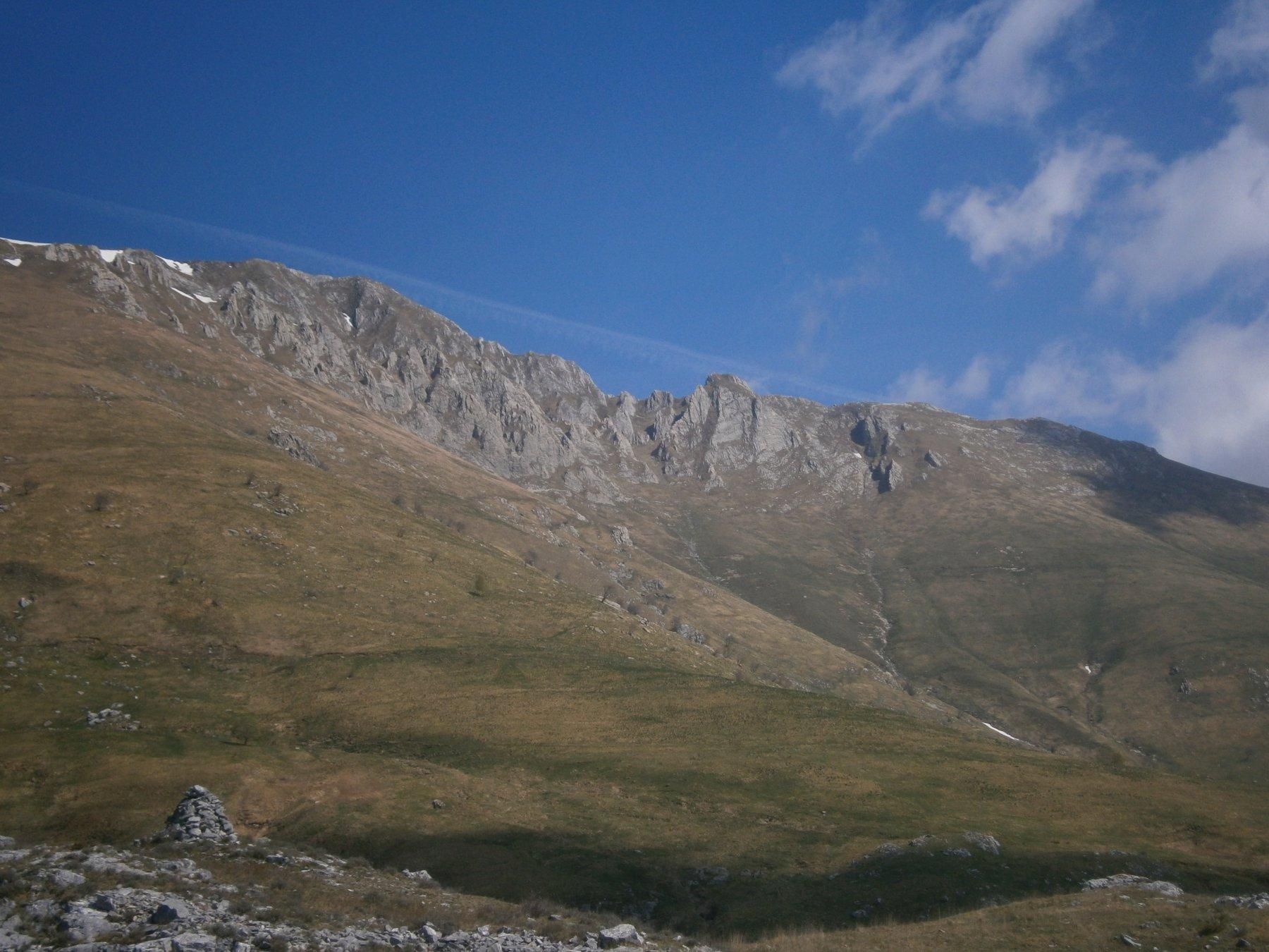 Antoroto e cresta da rocca Fea