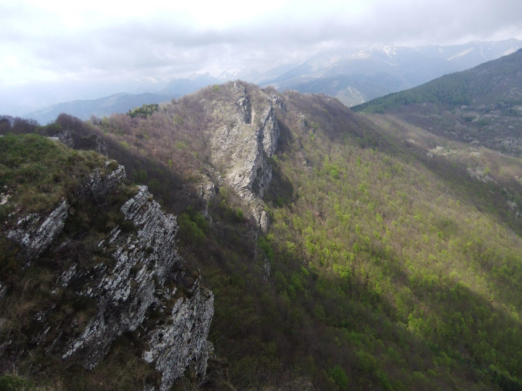 Rocca delle Penne dalla Rocca Tramontina