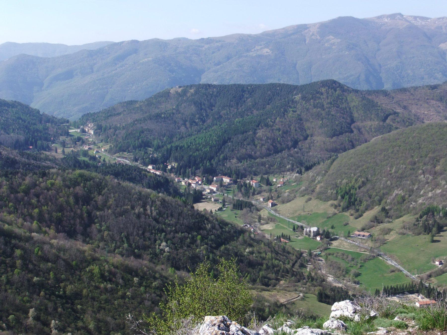Il Colle di Nava dalla Rocca Ferraira