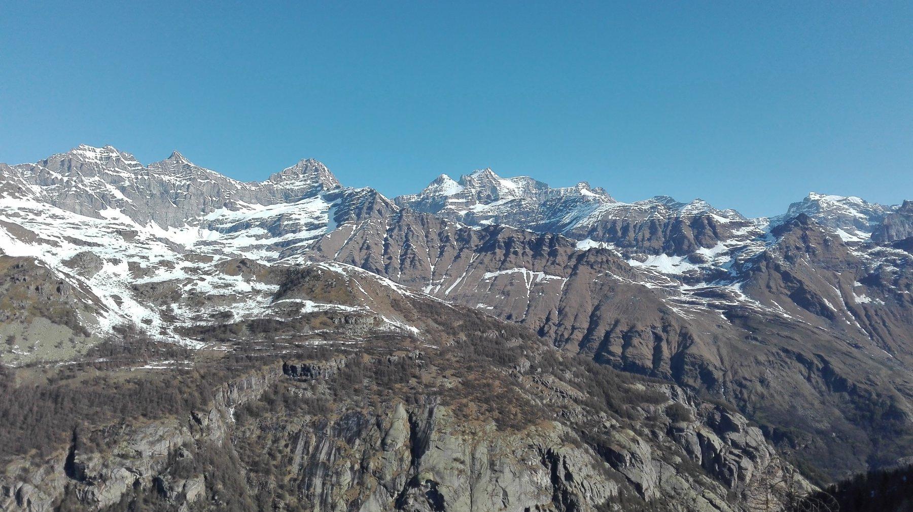Il Gran Paradiso dall'Alpe Ciarbonera