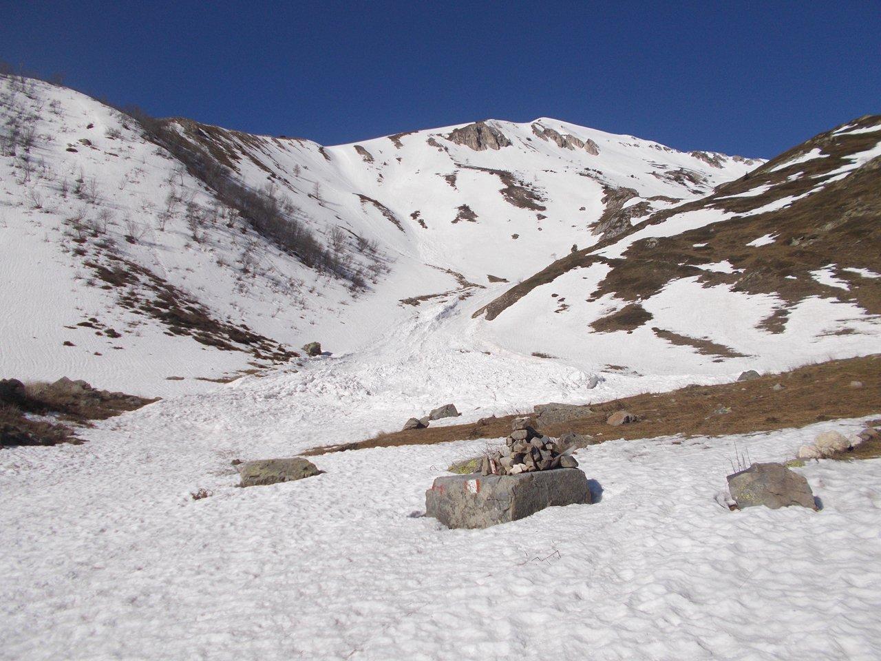 Inizia la neve  q.1800 circa