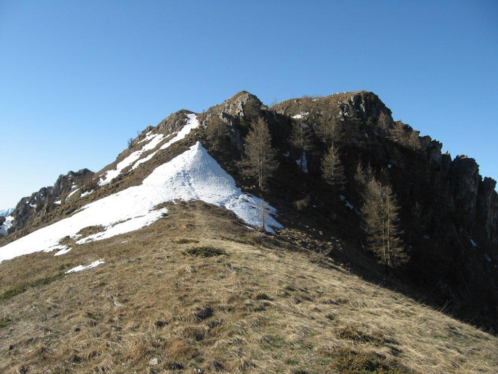 Roccia Agnelliera dal colle