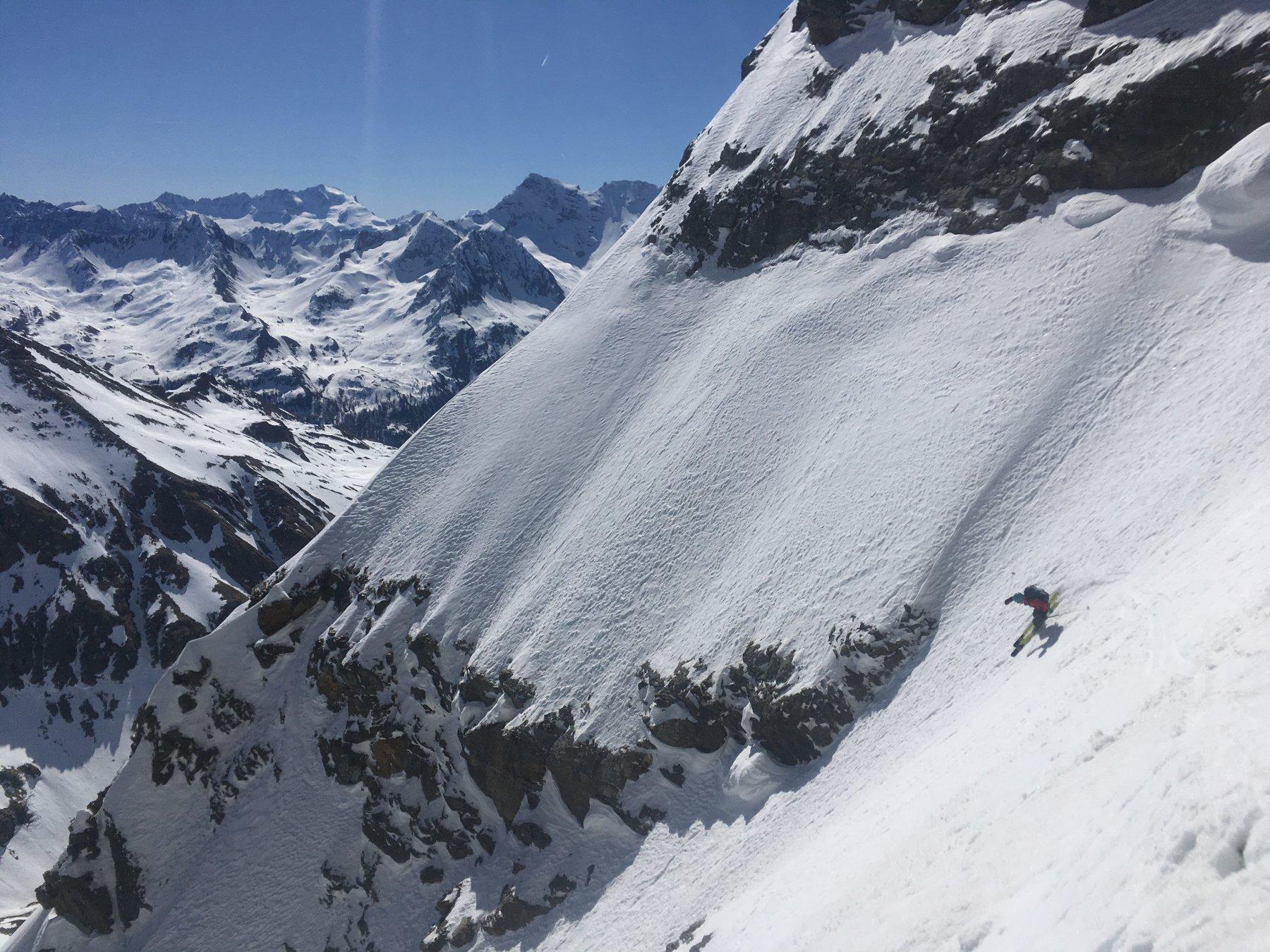 Gran Becca du Mont - Parete Est La loffa della mirauda 2017-04-22