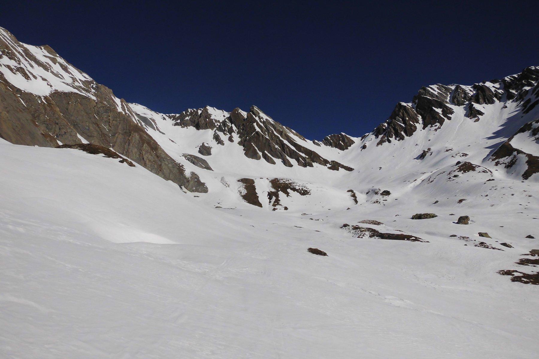 Dall'altezza delle Alpi Praz de Farcoz
