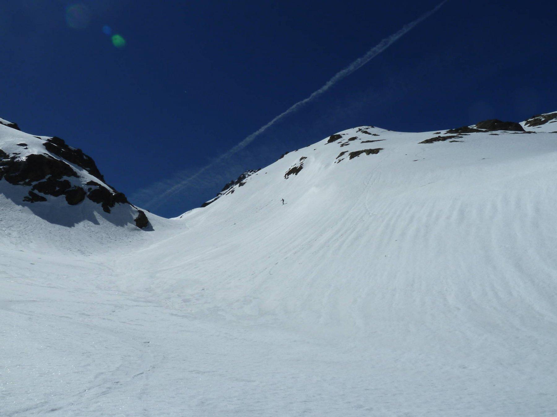 Pochi passaggi e neve fantastica