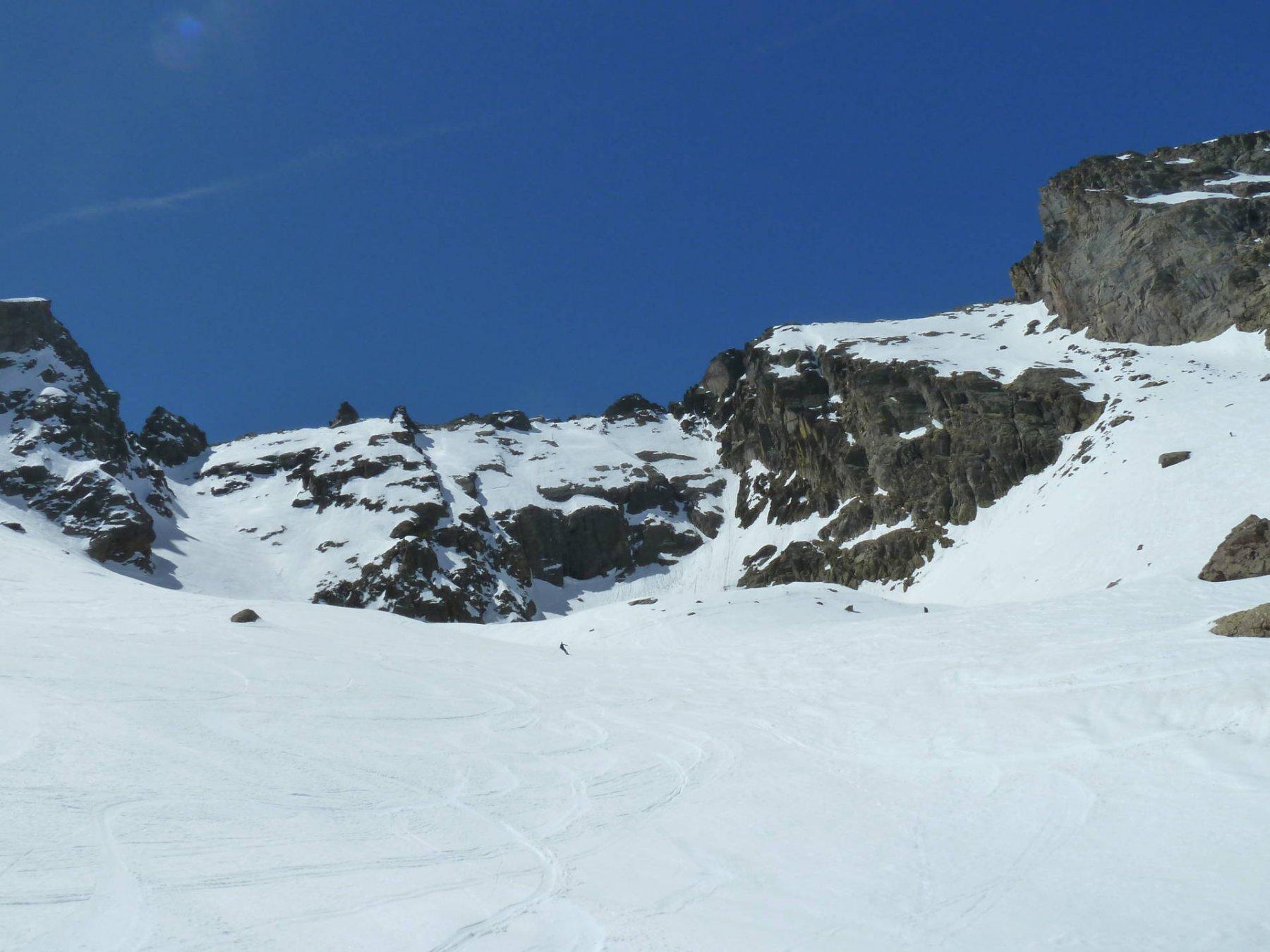 Super neve nel vallone del Talarico