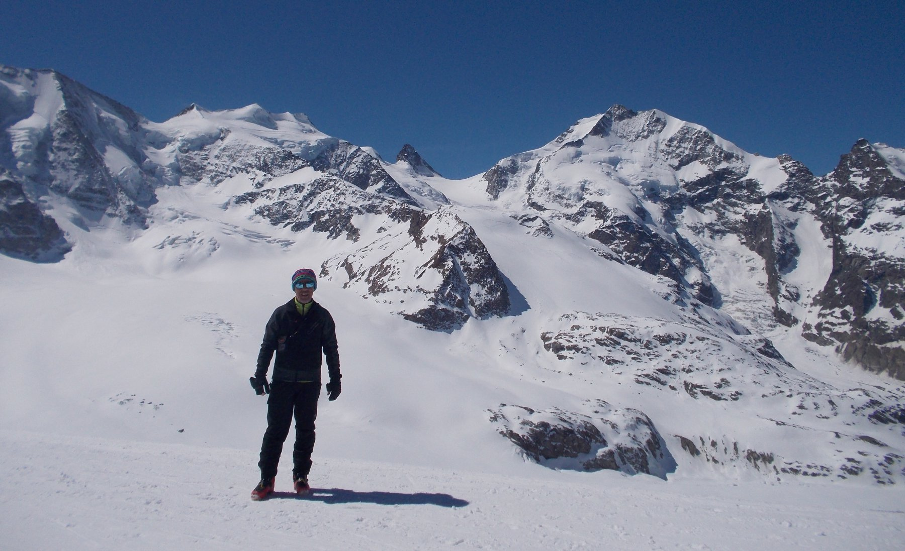 Diavolezza (Rifugio) dal Passo Bernina 2017-04-23