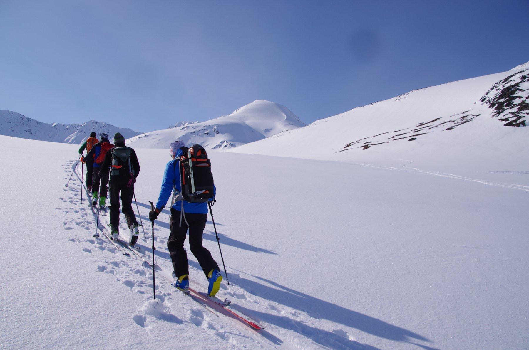Rornesfjellet da Lyngseidet 2017-04-23