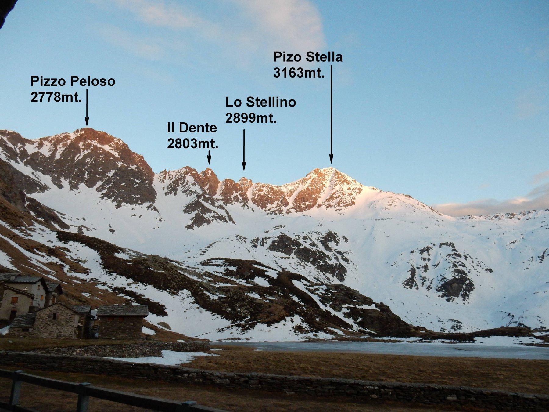 Panorama dal Rif.Chiavenna 2044mt.