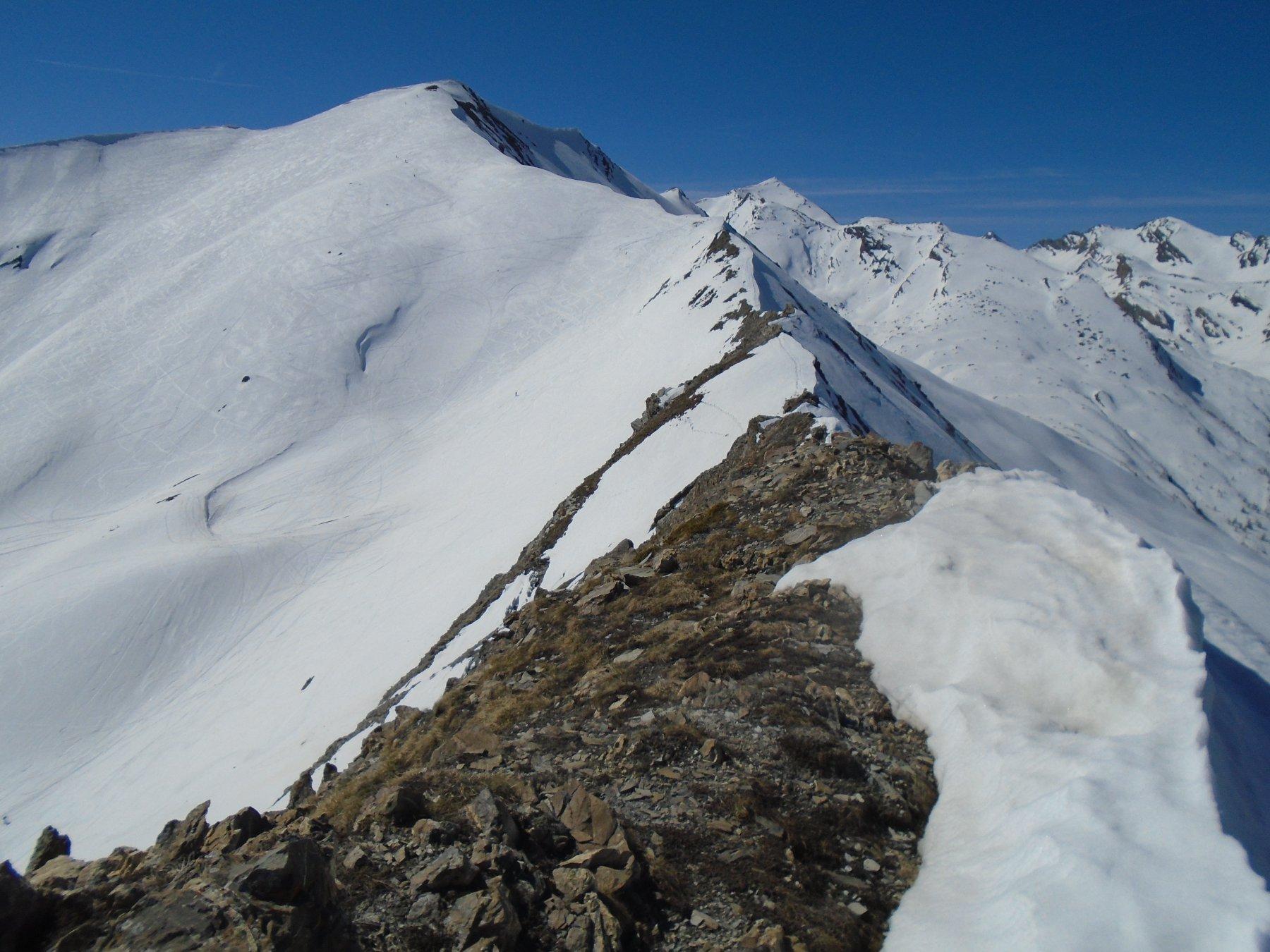 Cresta nord da P.Vallonetto al Ventasuso