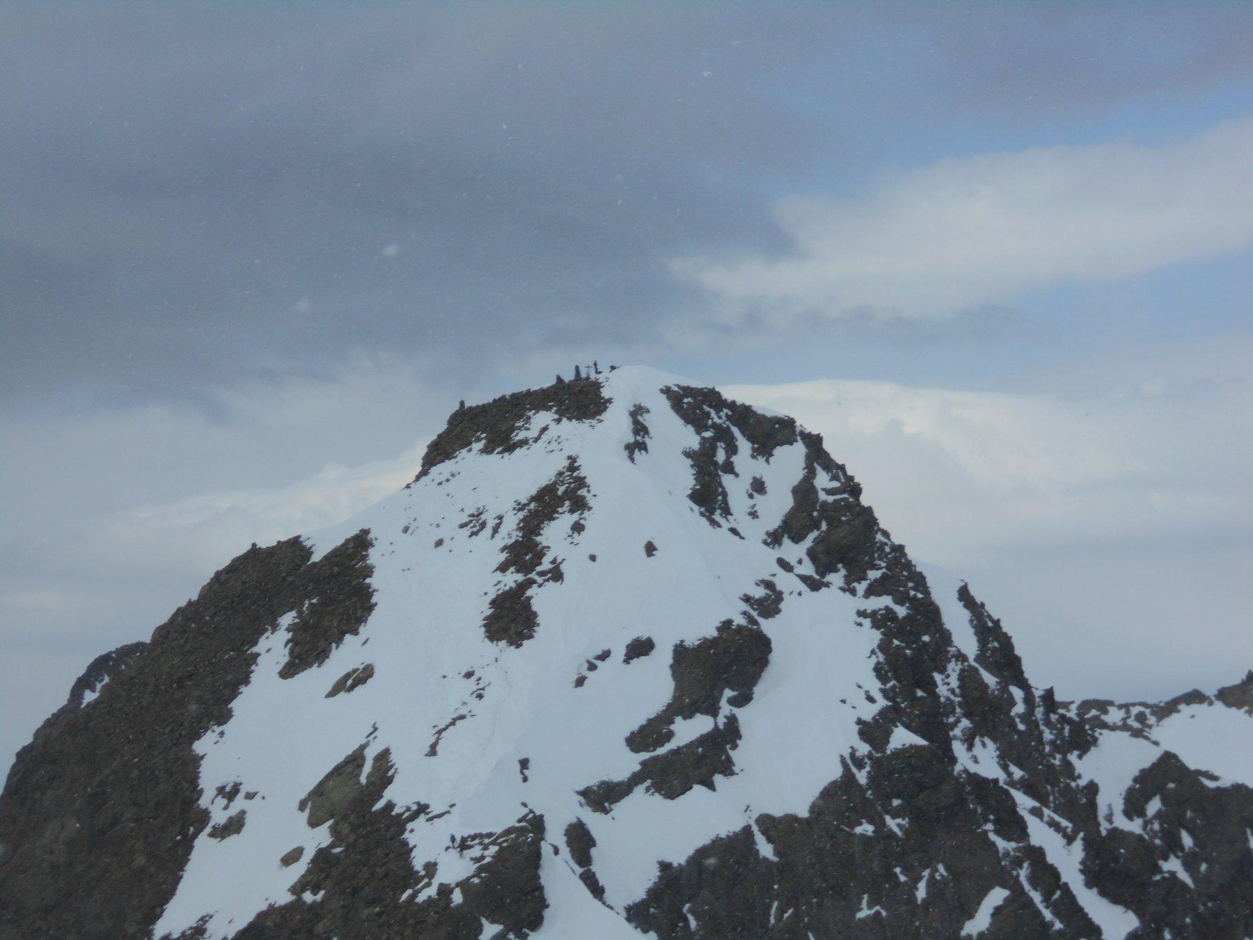 Bergamaschi in cima al Corborant