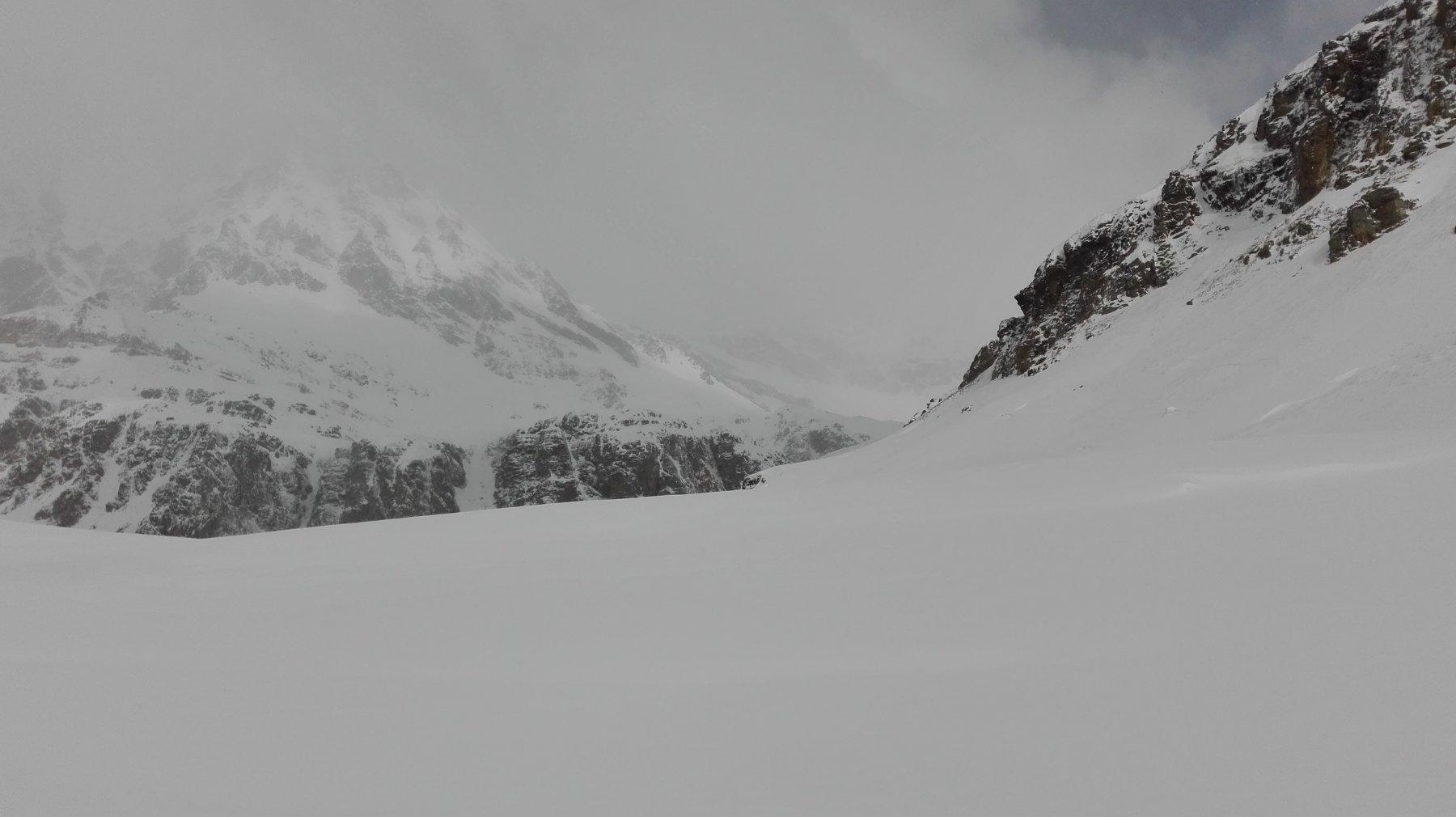 Punta Basei nella nebbia