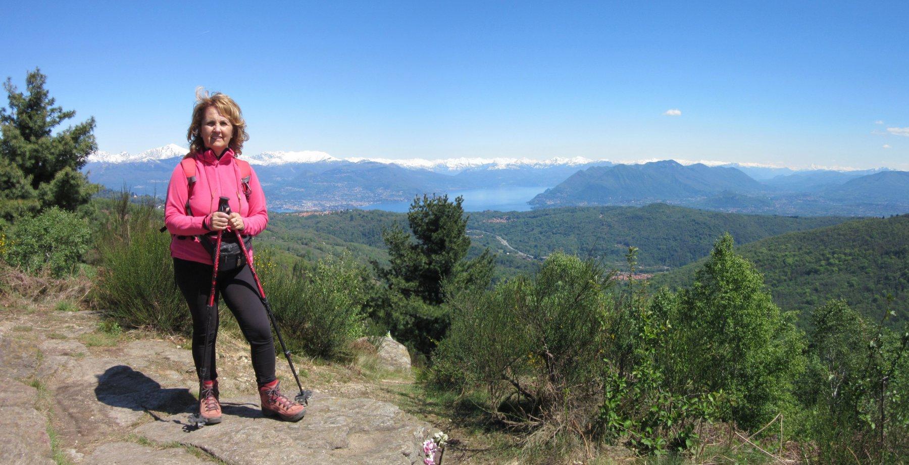 Panorama dal Monte Cornaggia
