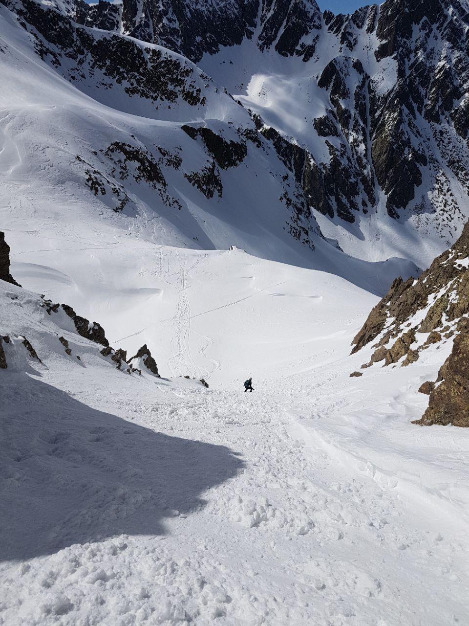 Tenibres (Monte) e Becco Alto del Piz da Pontebernardo, anello per il Passo della Lausa 2017-04-29