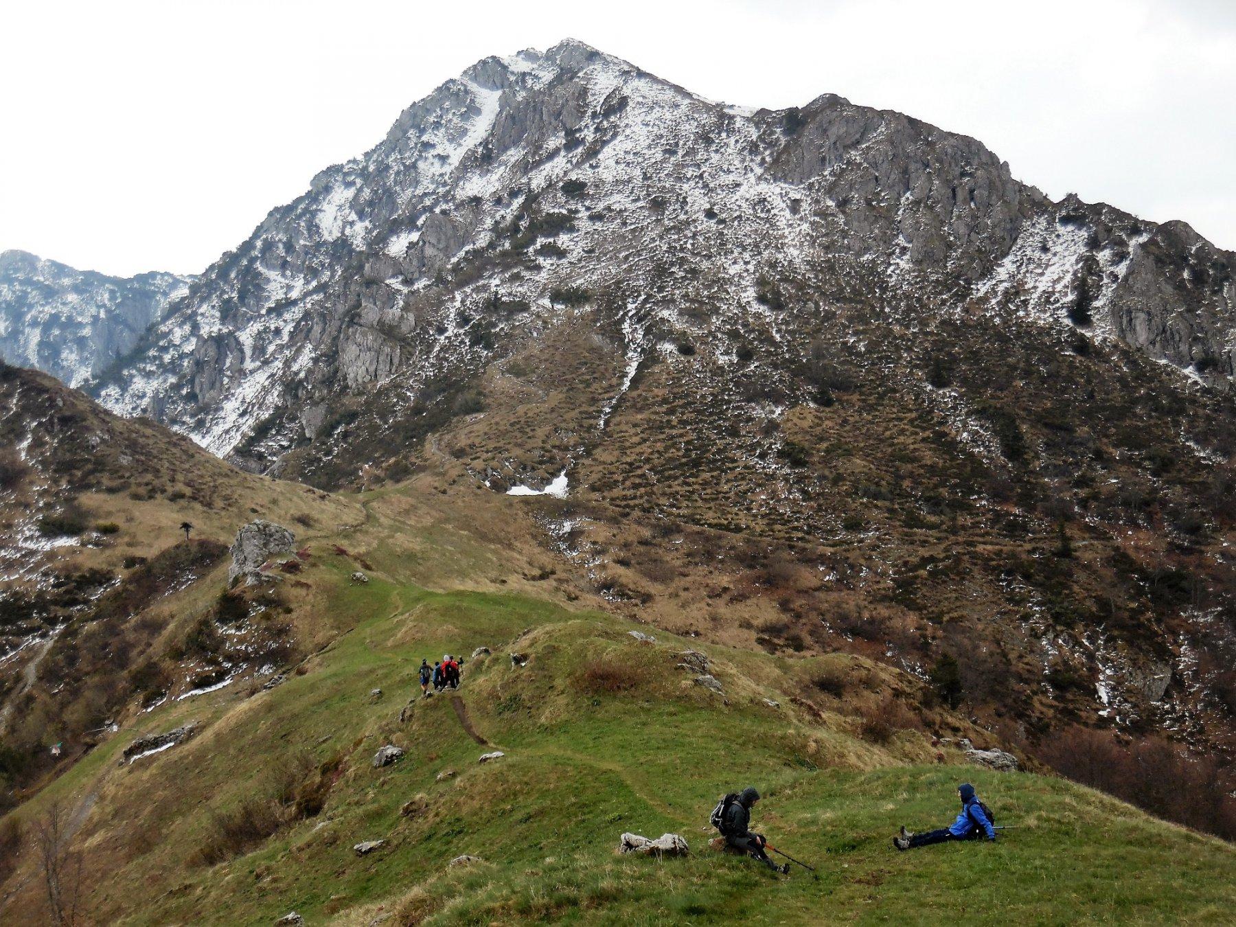 Salendo al Venturosa. Passo Grialeggio 1707 m e Cancervo versante nord