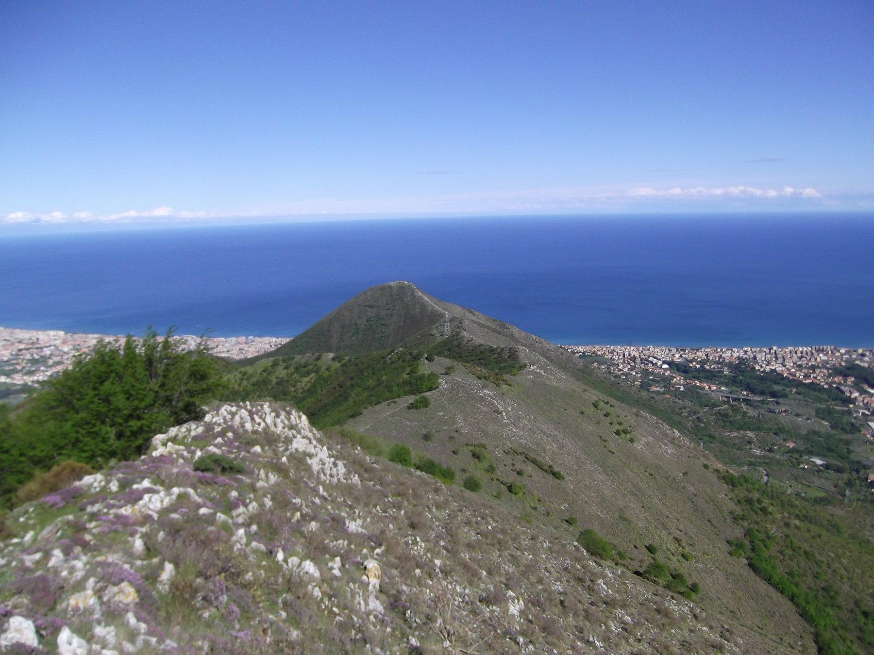 Grande (Poggio), Pizzo Ceresa, Monte Pesalto da Peagna , anello per il Monte Acuto 2017-05-01