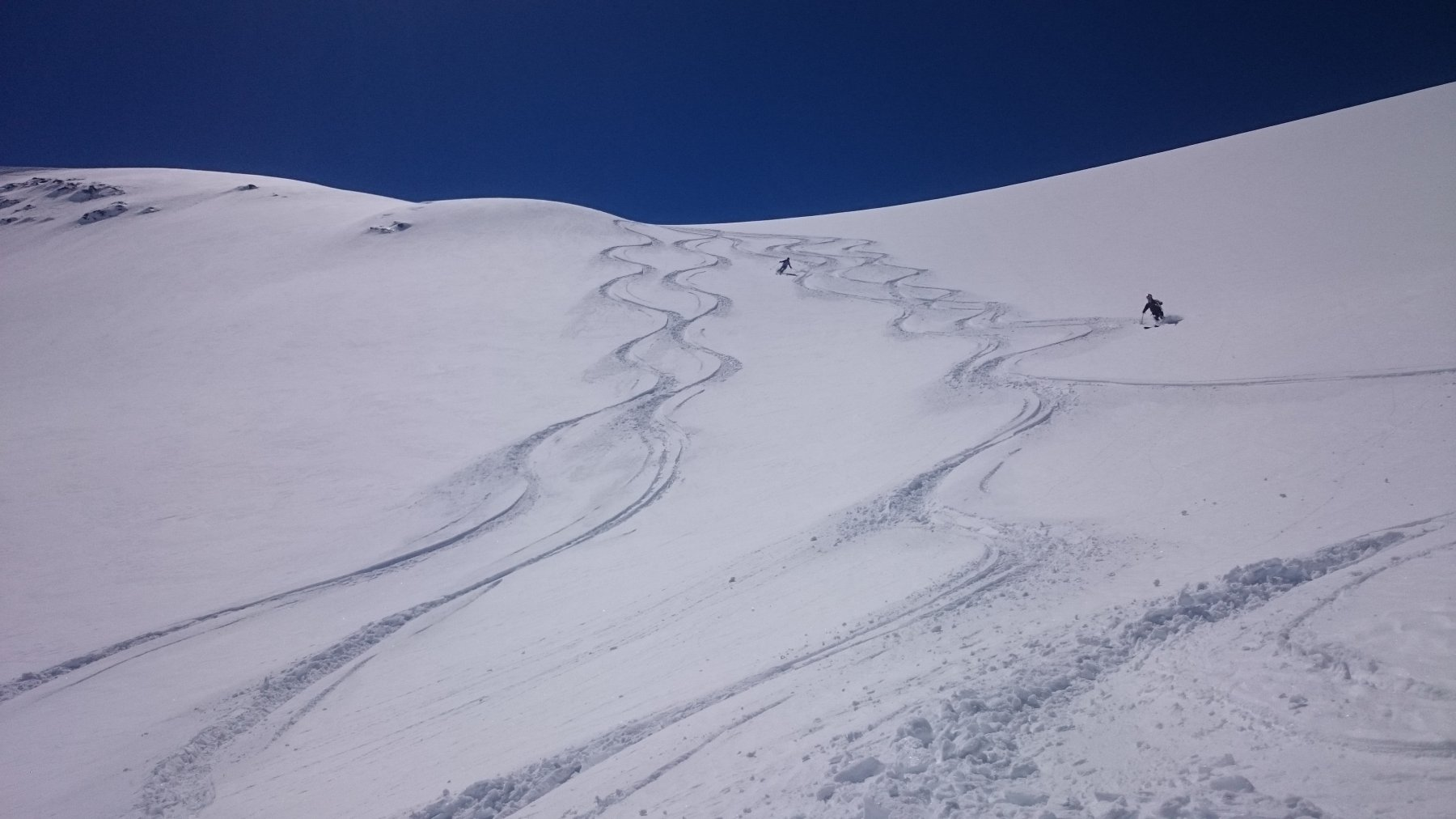 Belle curve sul lato Col du Mont
