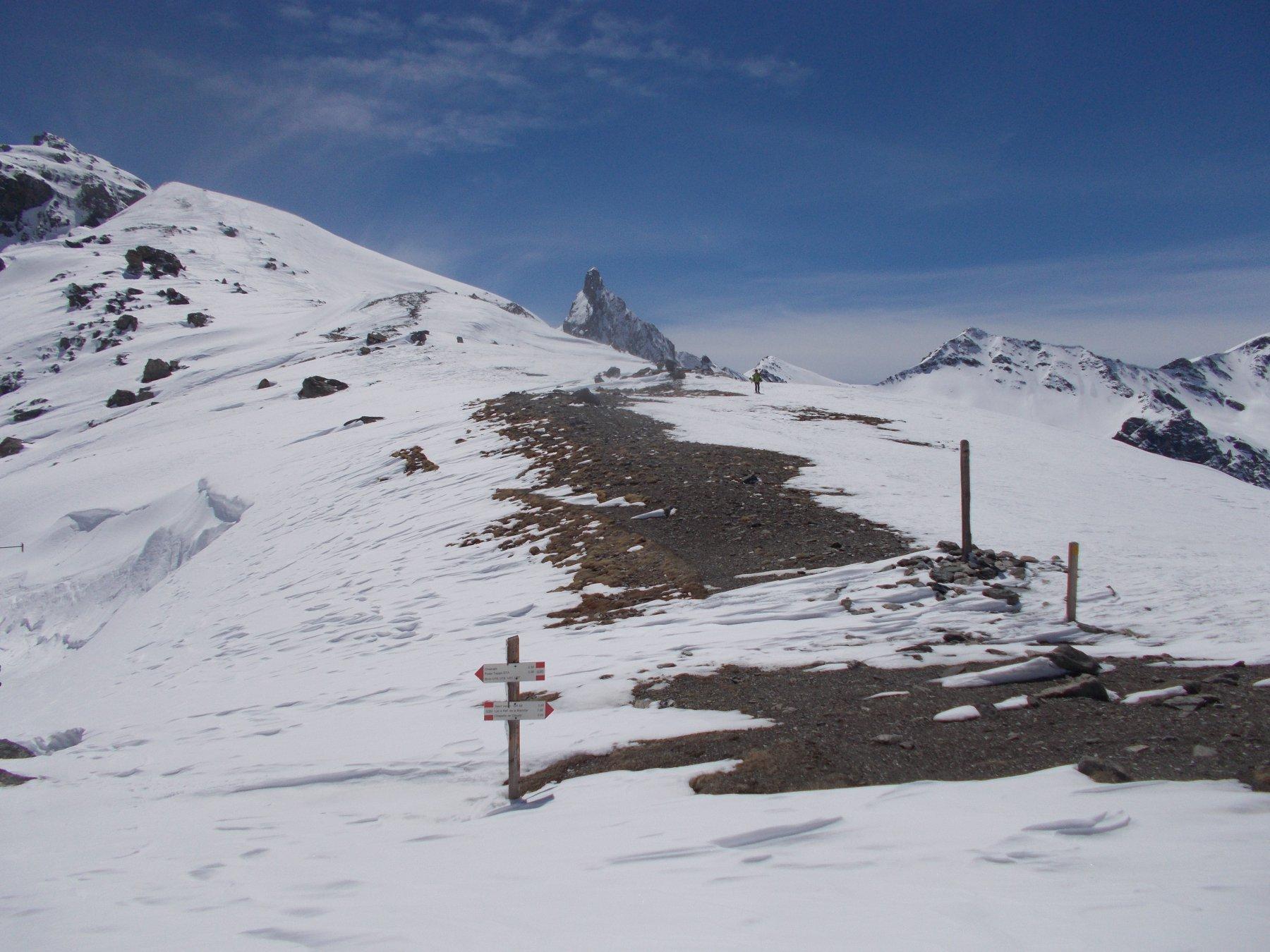 transitando dal Col di San Veran..