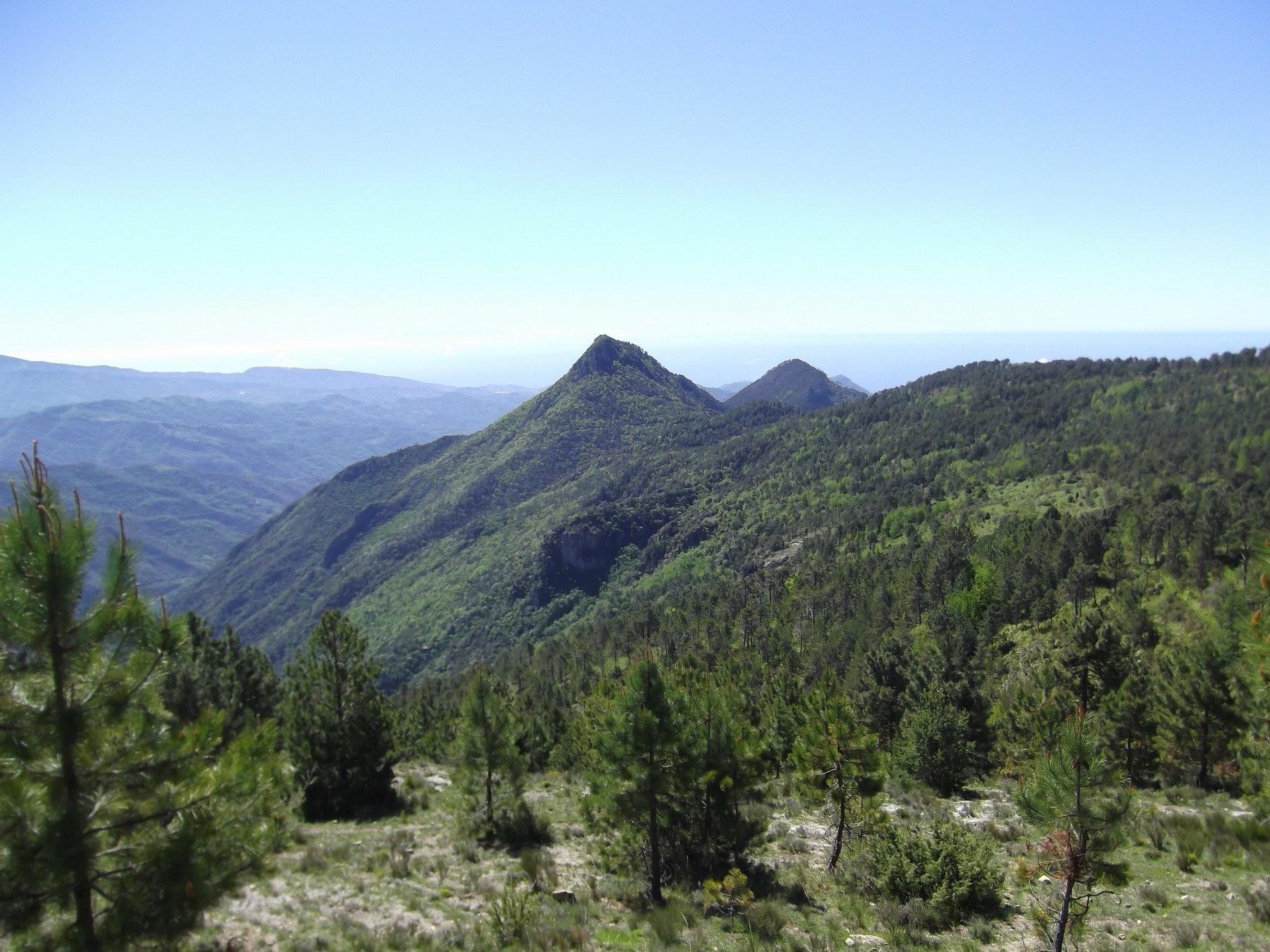 Verso il Monte Abellio.