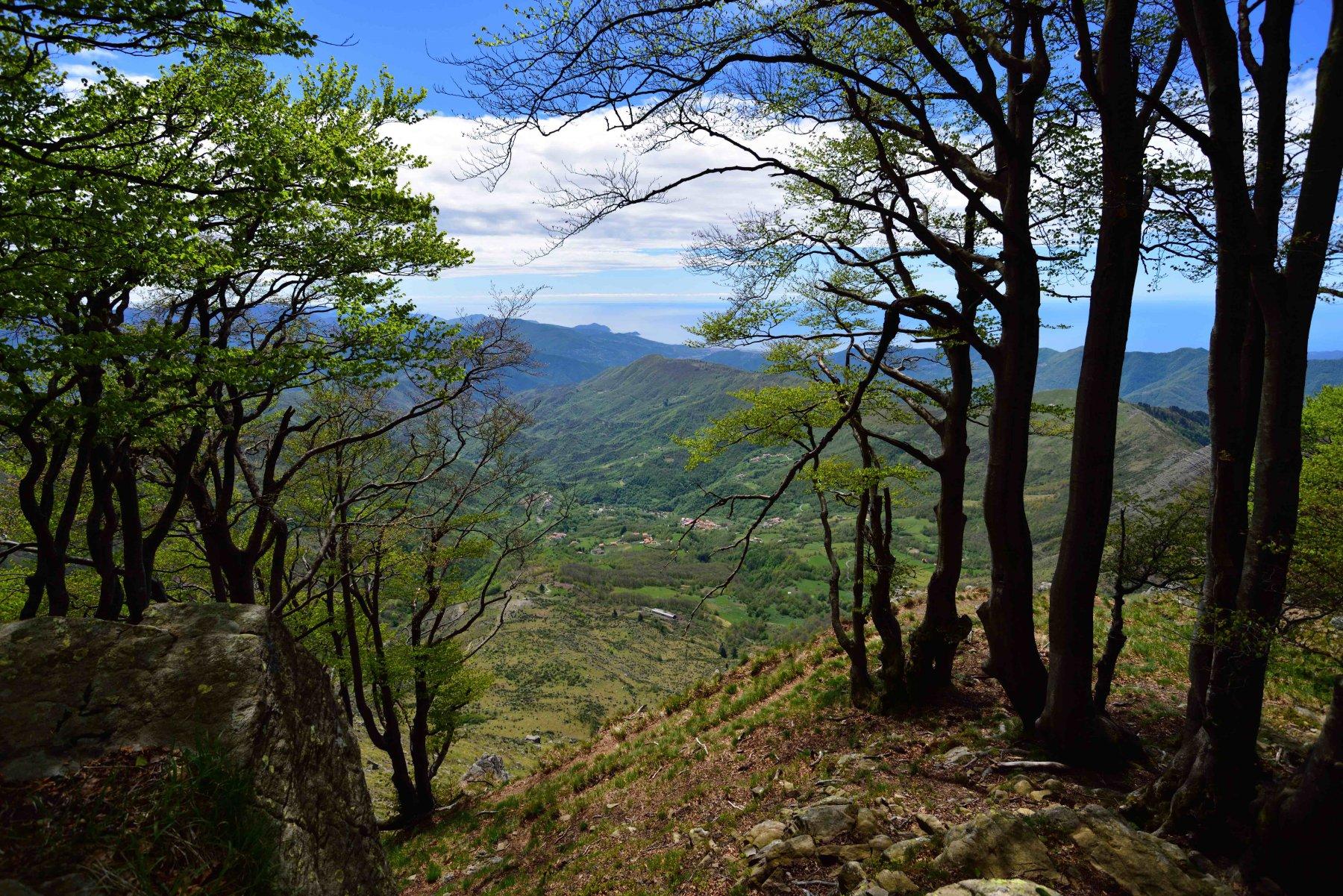 Panorama dalla vetta Est del Ramaceto