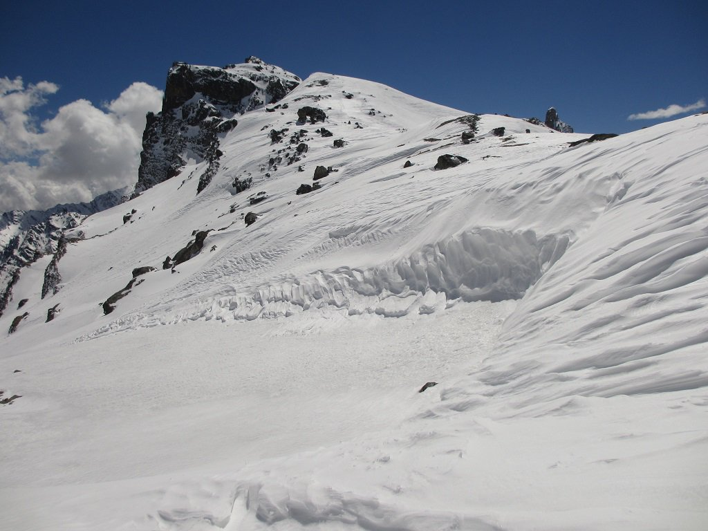 Rocca Bianca vista dal colle Veran