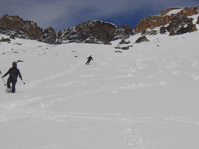 Chi a piedi e chi in sci