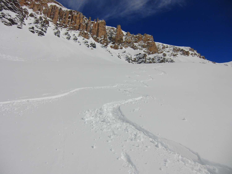 Bella neve nella parte alta