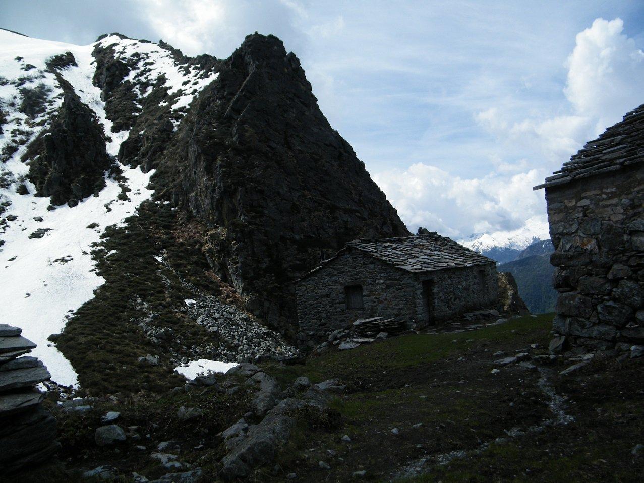 Ambiente severo all'Alpe Palia.