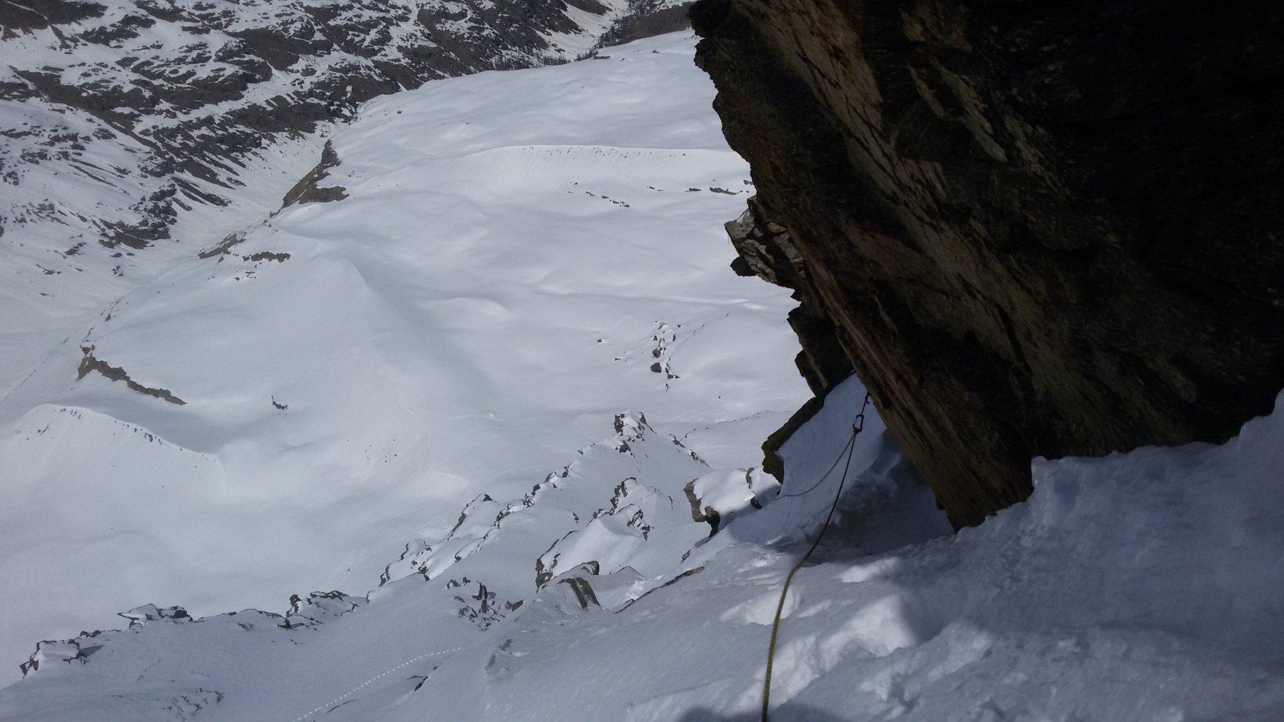 in discesa: la rampa nevosa
