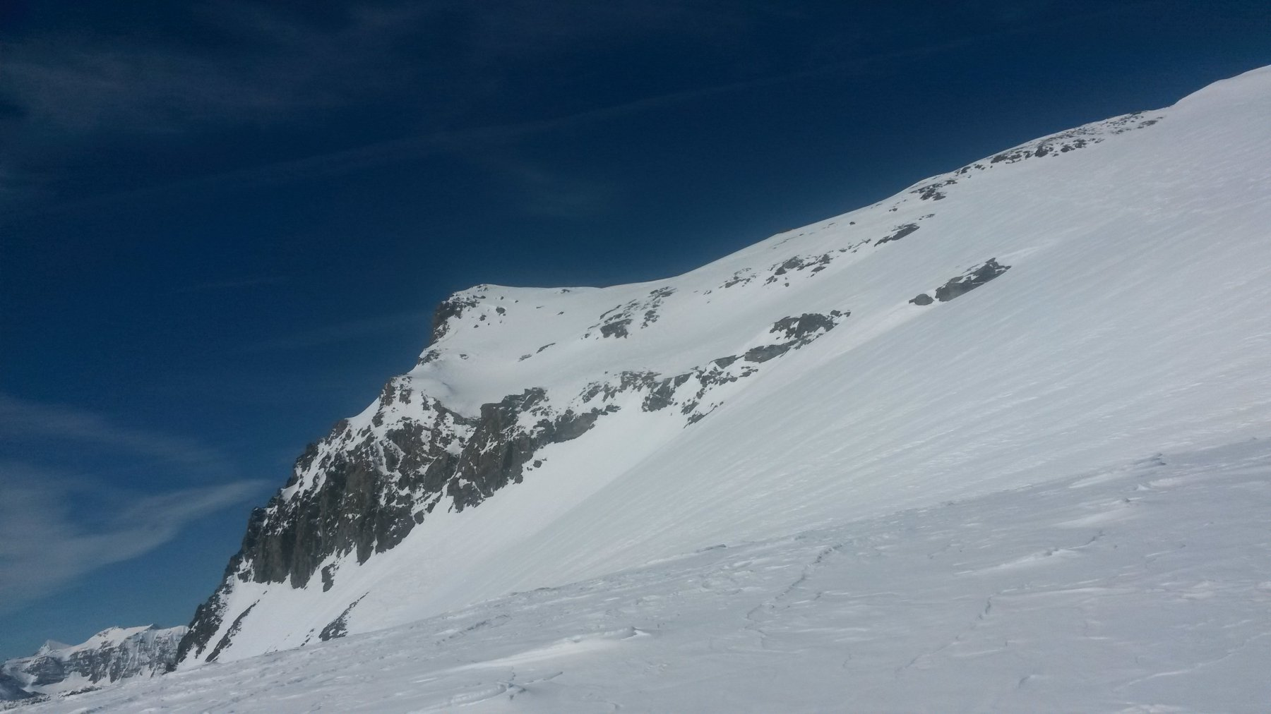 Il Monte Collerin dal Passo di Chalanson Superiore