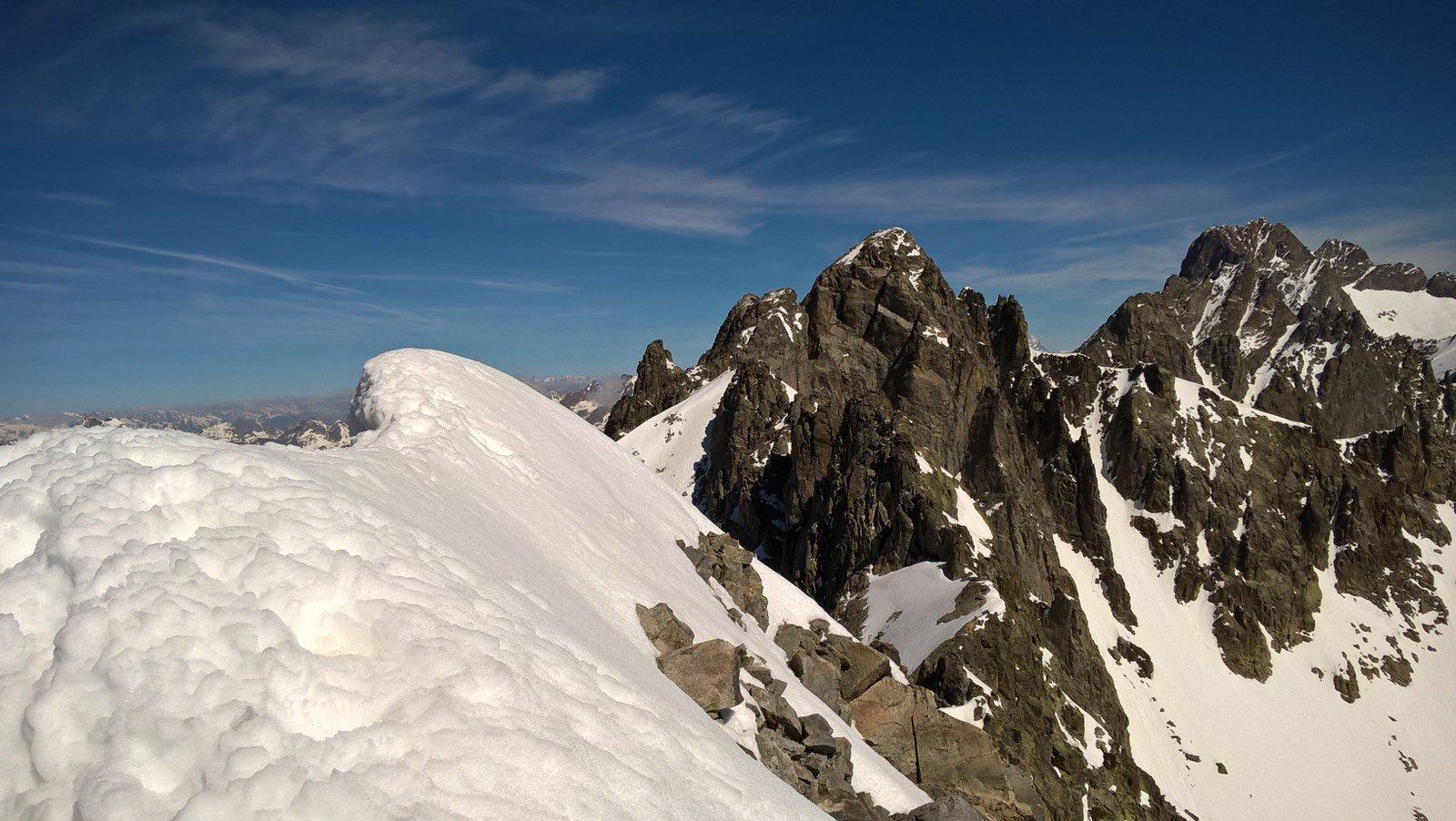 Dalla cima verso l'Argentera
