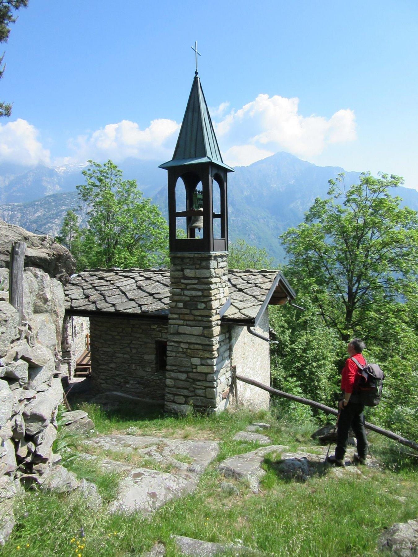 La chiesetta di Pourcil