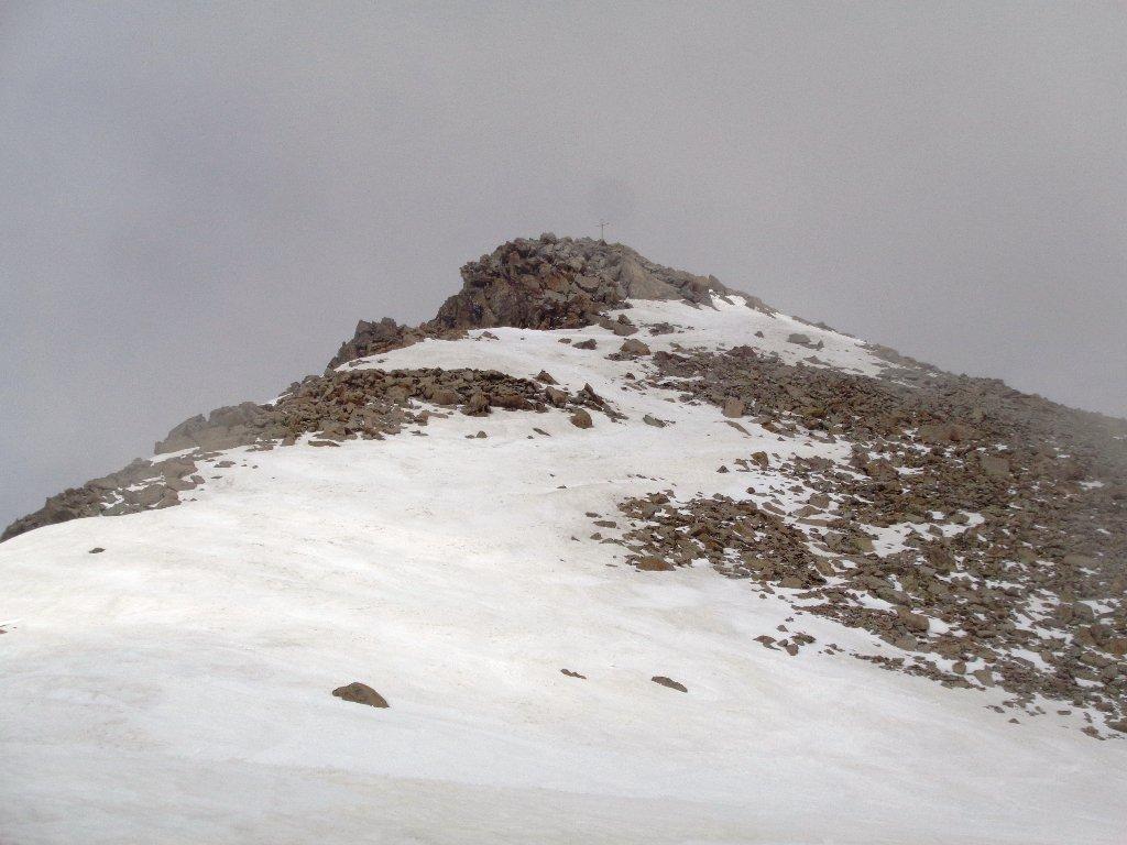 dorsale finale, ultimi metri senza neve