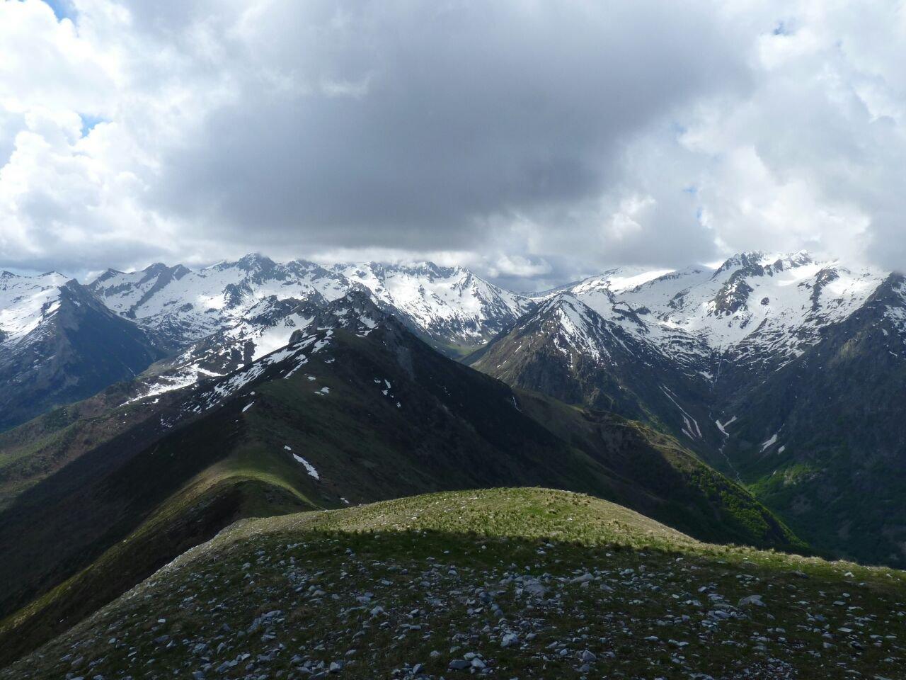 Pianard (Monte) da Palanfrè per il Colle della Garbella 2017-05-20