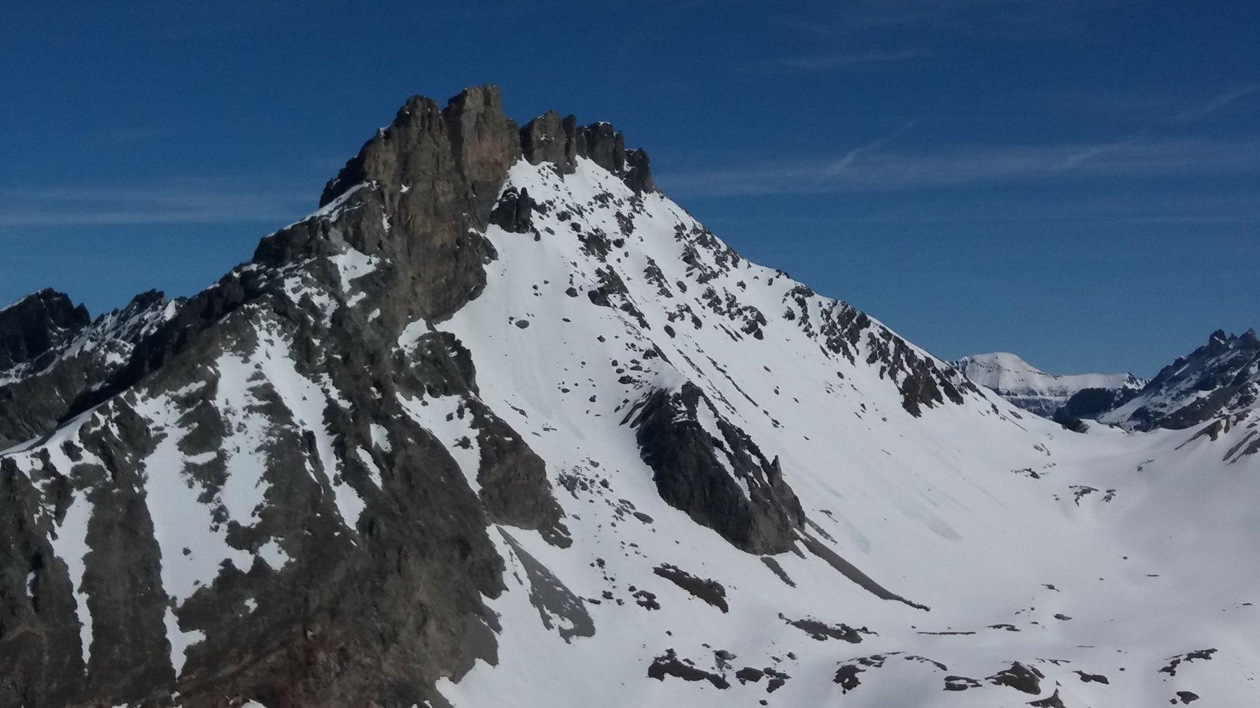 Dalla cima, Rognosa d' Etiache