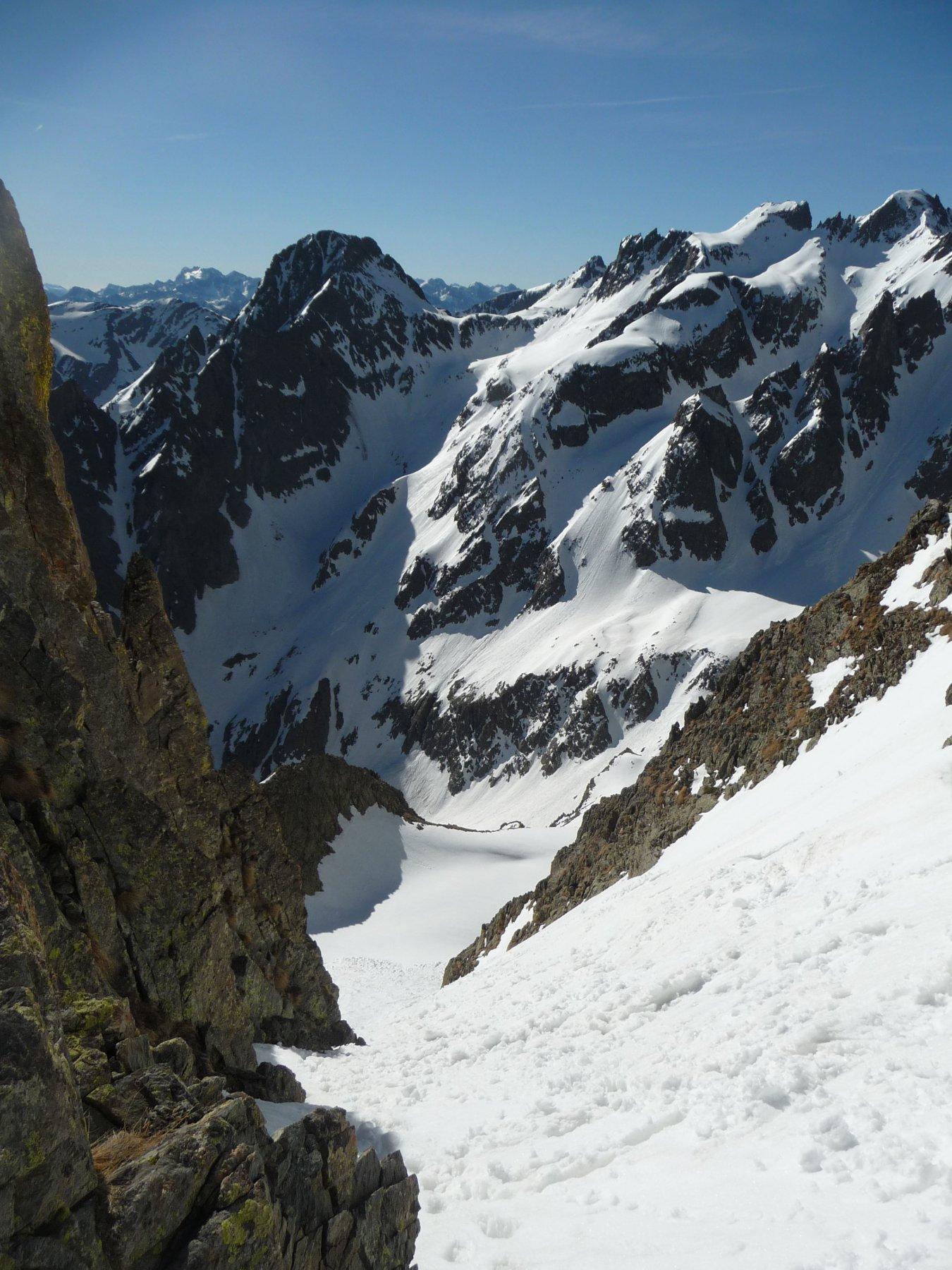 Vista dal passo del Vallonetto