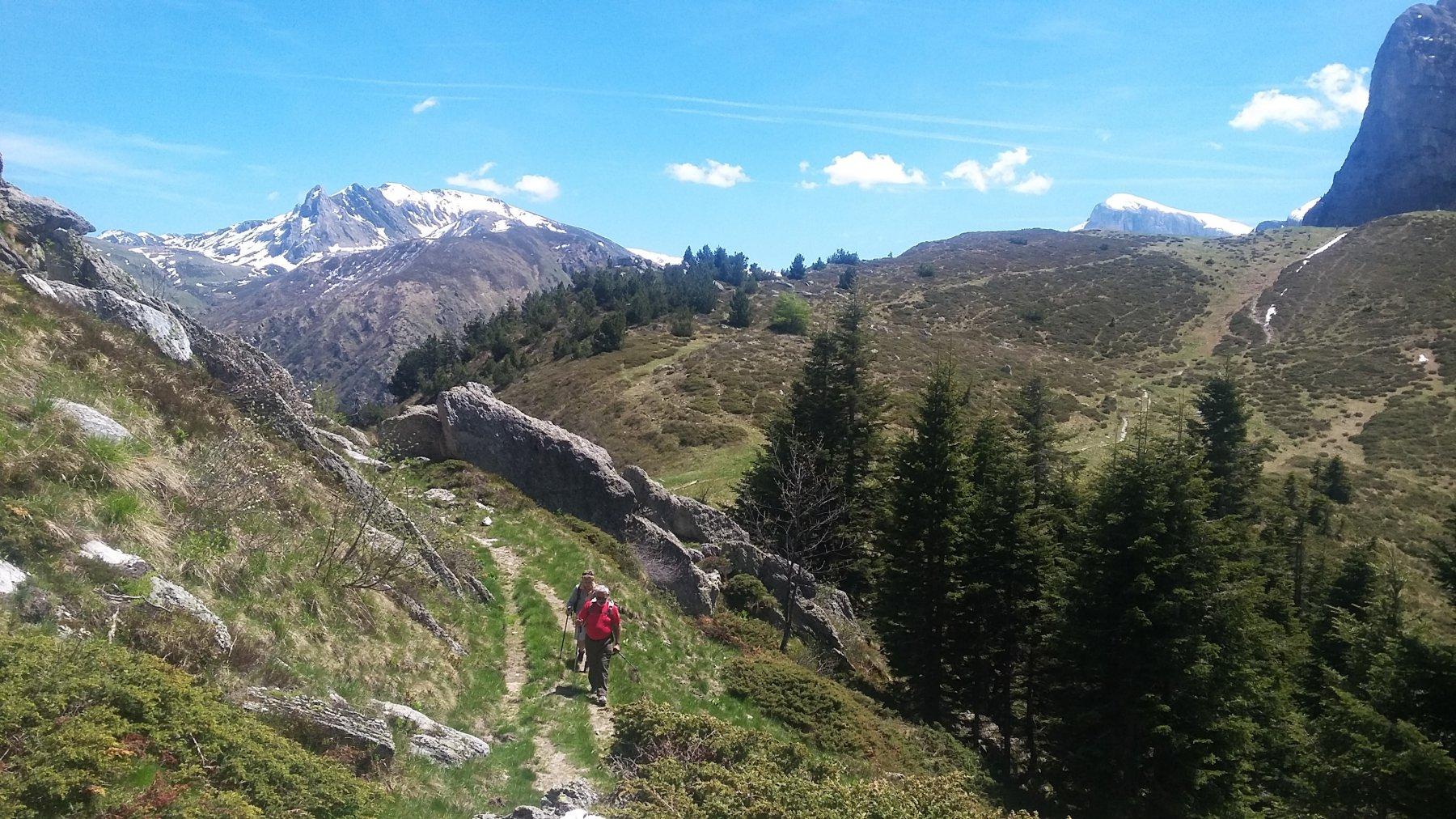 panorama su Mongioie e Saline