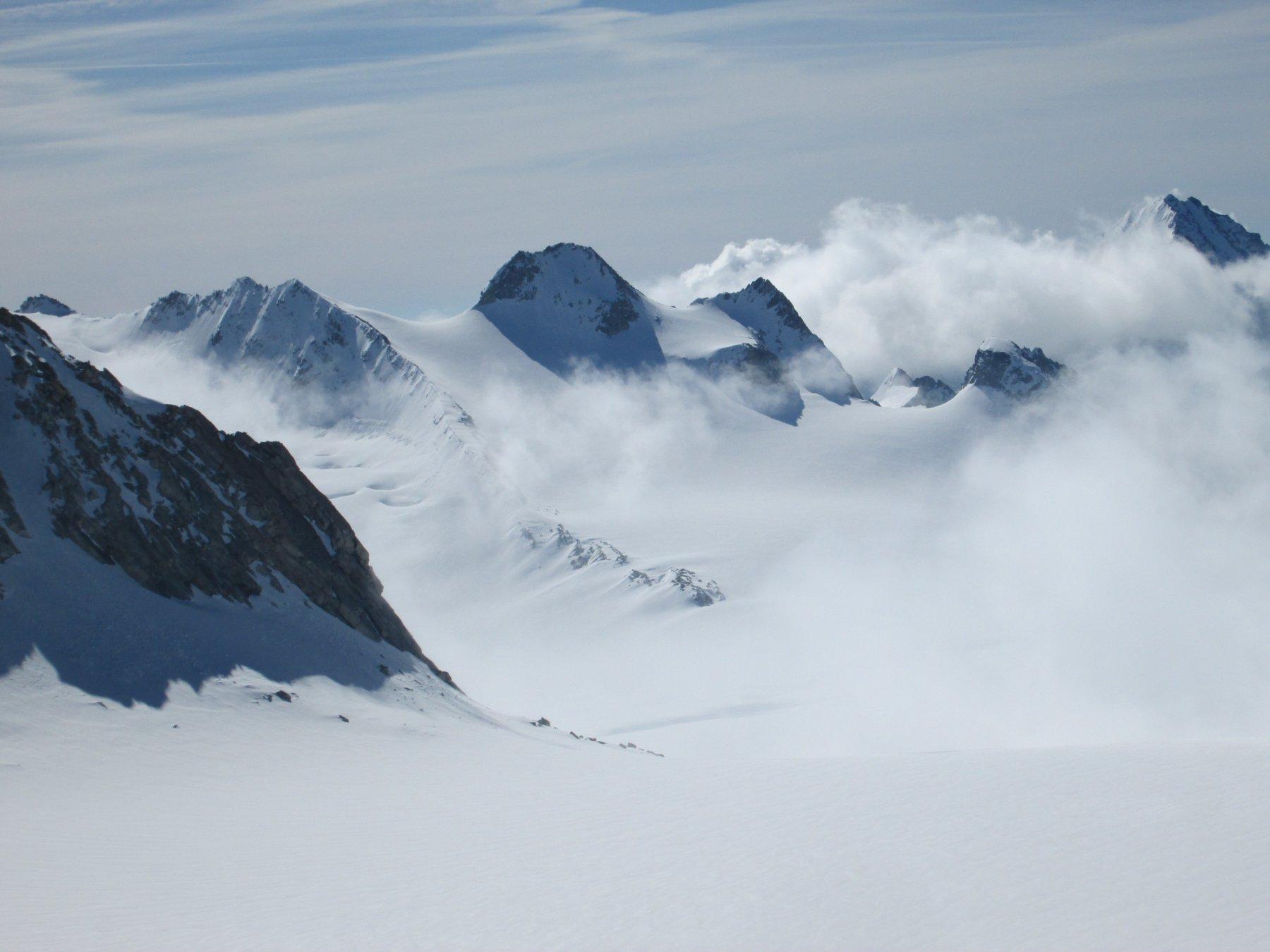 Panorama dal punto più alto