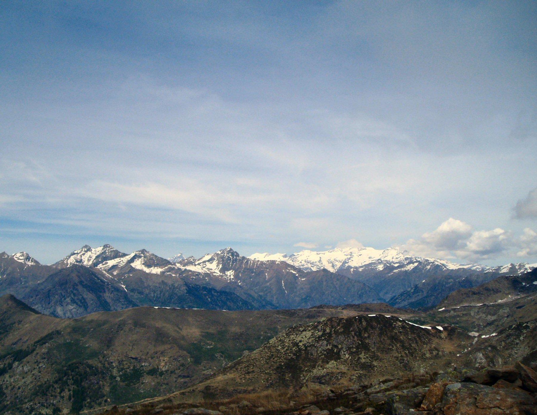 I monti della Valle del Lys.