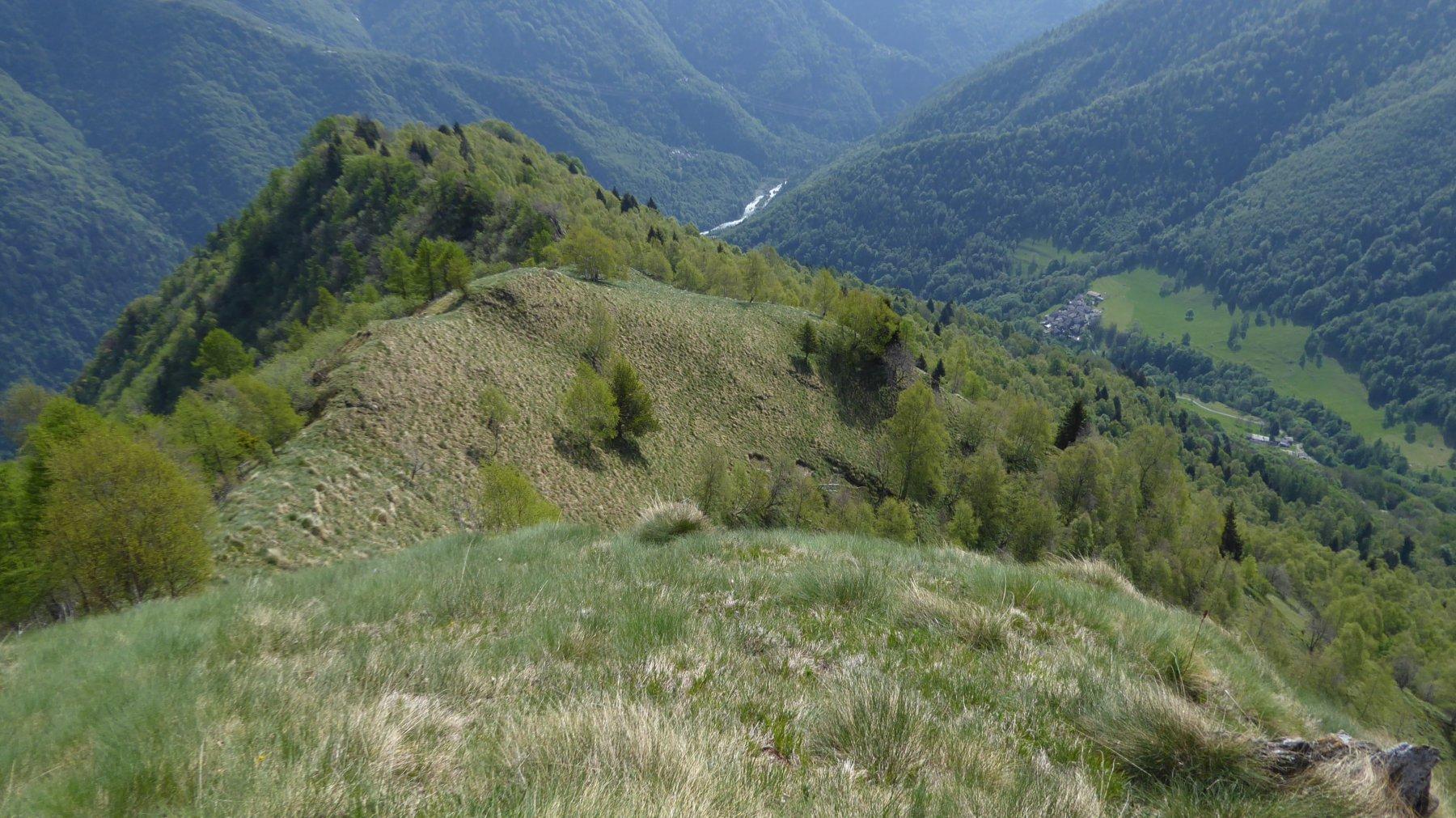 Sulla cresta per la Punta di Sionei