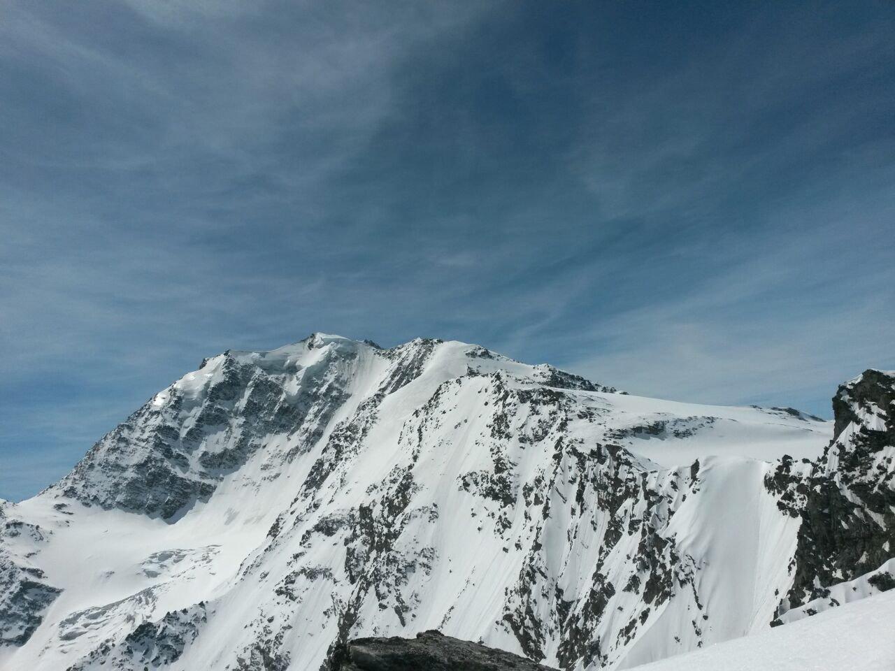 Vista dal deposito sci sul Fletschorn
