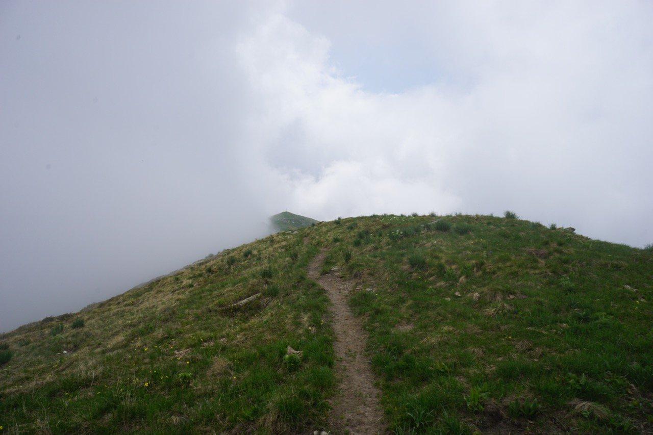 crinale tra le nuvole