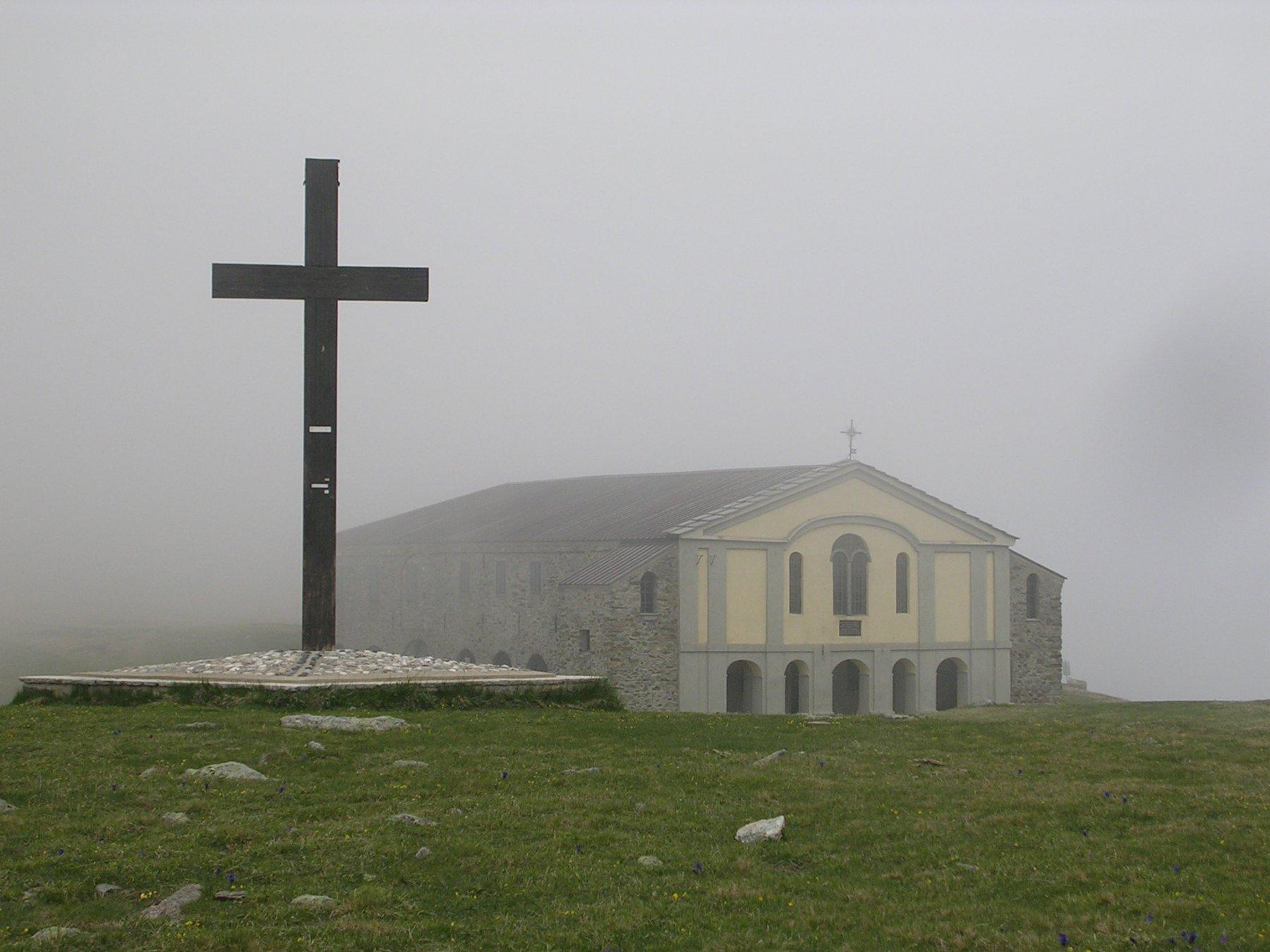 Il colombardo nella nebbia