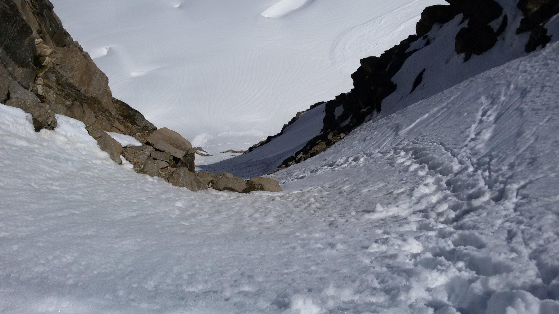 Dal colle di Montandaynè vista sul Ghiacciaio della Tribolazione
