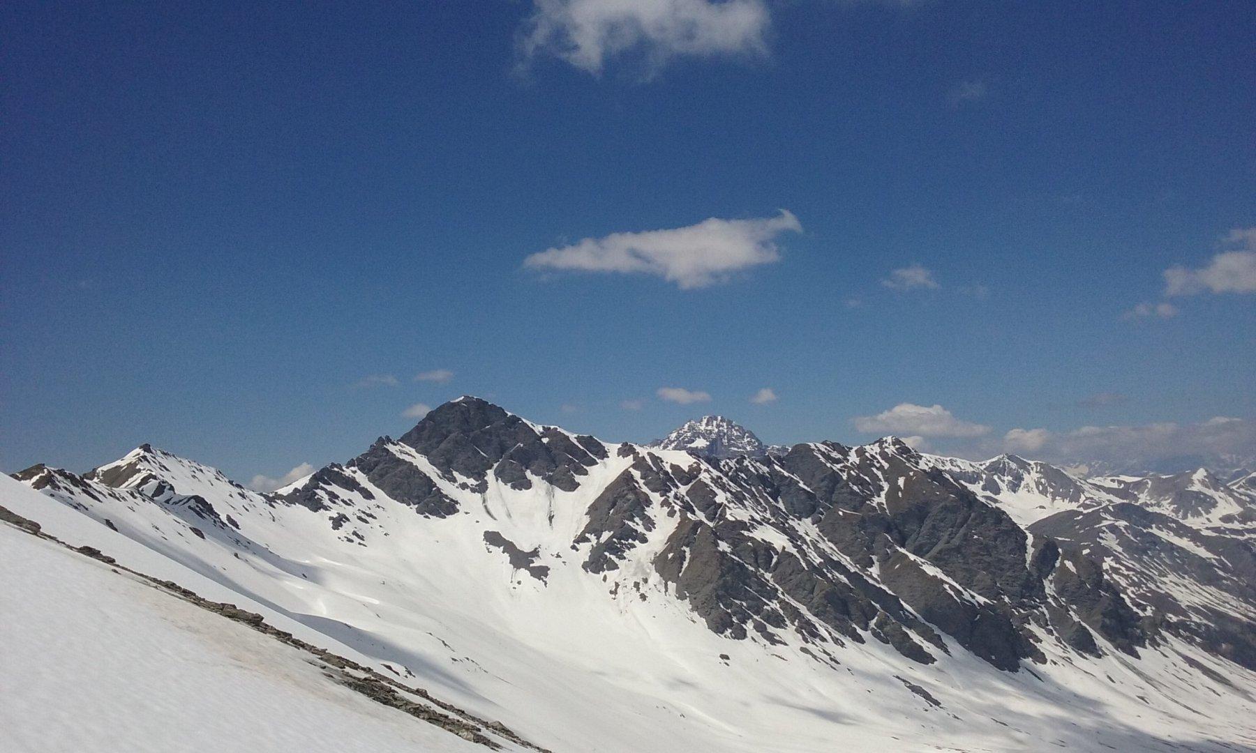 Petit Rochebrune e versante nord  Pic Lombard