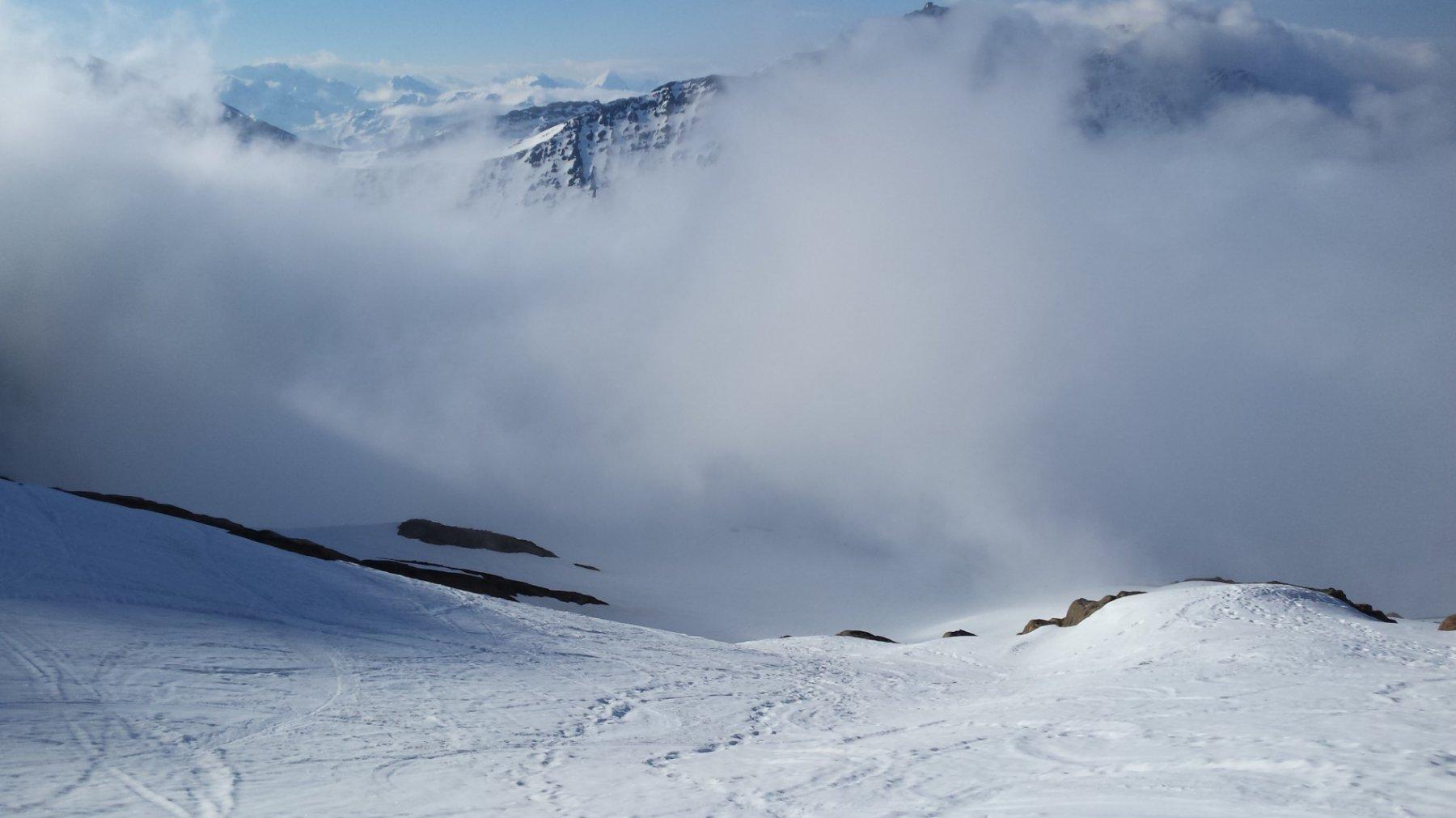 nuvola di Fantozzi a 2744 m