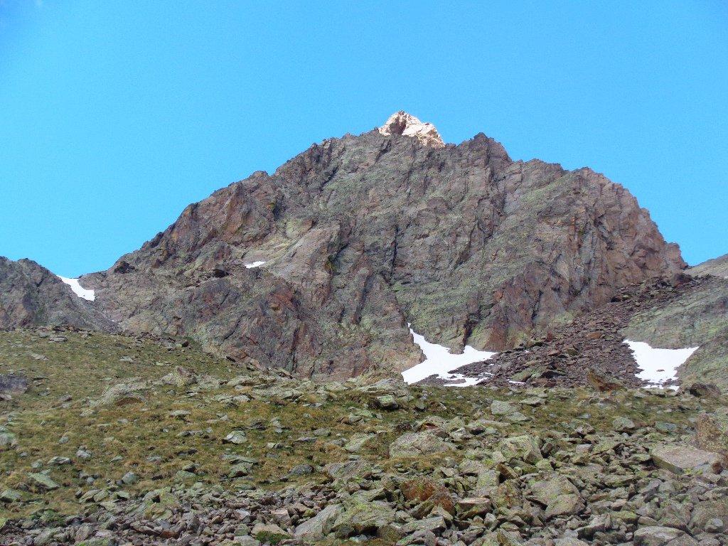 la cima presso il Lago Mongioie