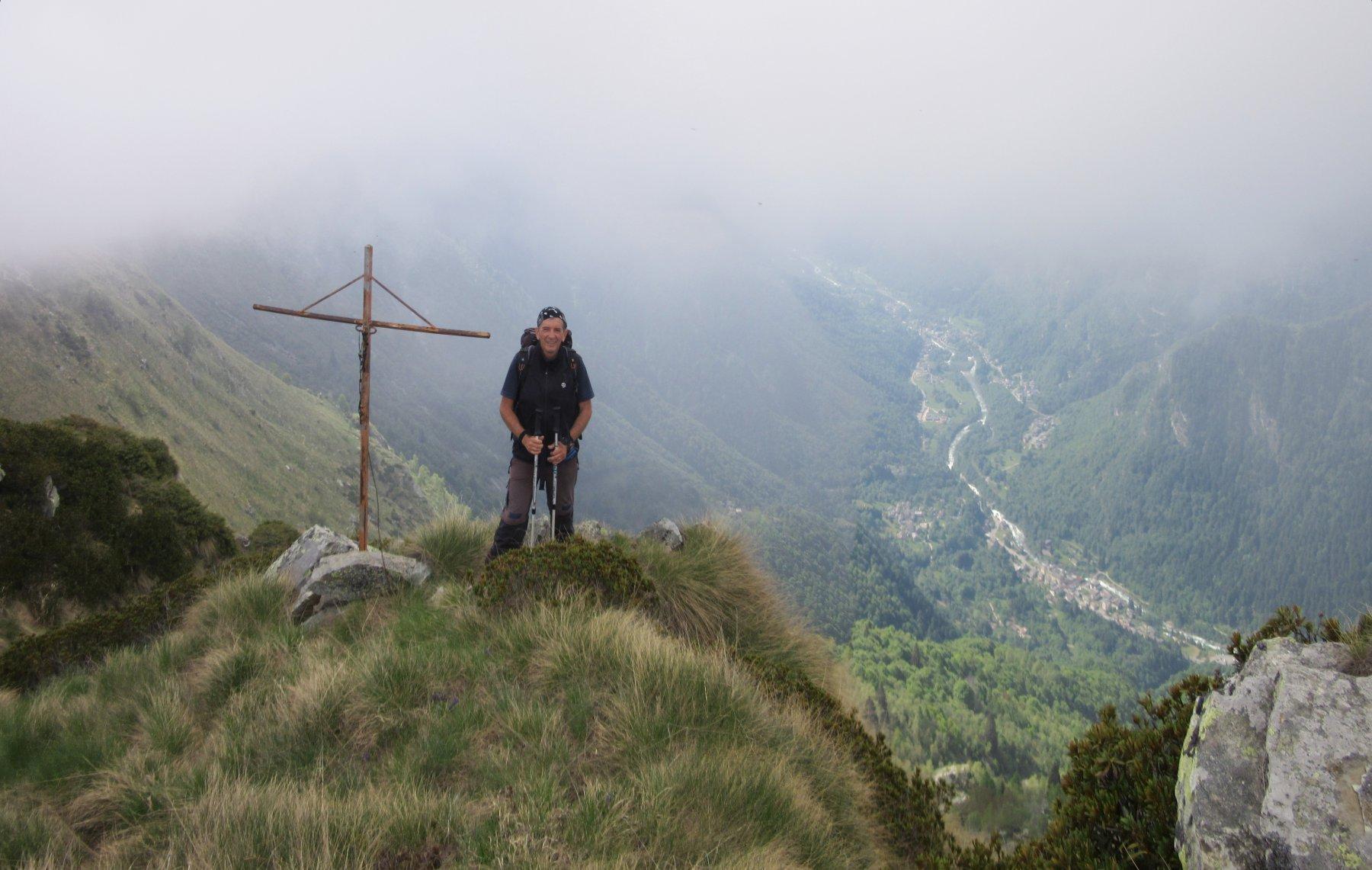 Sulla Punta Massarei m. 2061