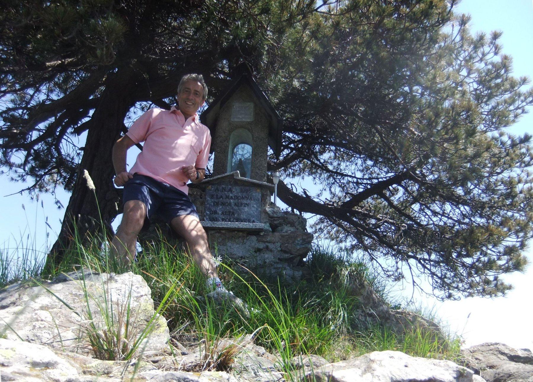 In cima al Monte Orditano